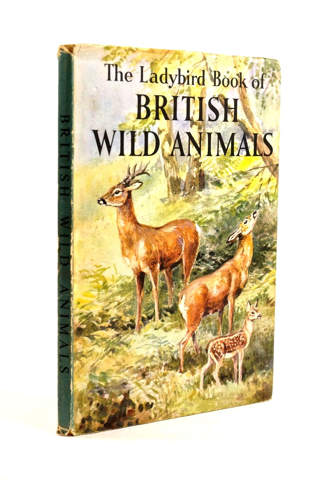 Photo of THE LADYBIRD BOOK OF BRITISH WILD ANIMALS written by Cansdale, George illustrated by Green, Roland published by Wills & Hepworth Ltd. (STOCK CODE: 1320631)  for sale by Stella & Rose's Books