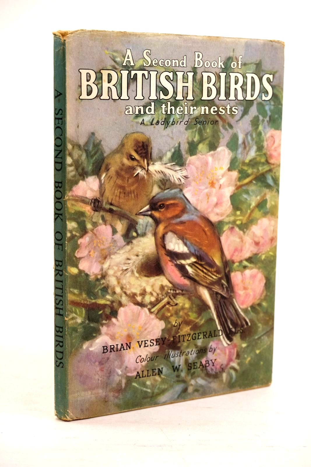 Photo of A SECOND BOOK OF BRITISH BIRDS AND THEIR NESTS written by Vesey-Fitzgerald, Brian illustrated by Seaby, Allen W. published by Wills & Hepworth Ltd. (STOCK CODE: 1320633)  for sale by Stella & Rose's Books