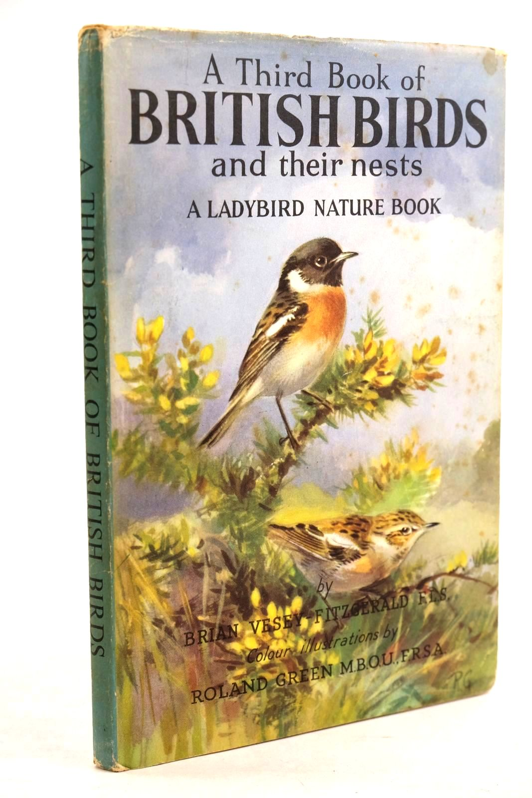 Photo of A THIRD BOOK OF BRITISH BIRDS AND THEIR NESTS written by Vesey-Fitzgerald, Brian illustrated by Green, Roland published by Wills & Hepworth Ltd. (STOCK CODE: 1320634)  for sale by Stella & Rose's Books