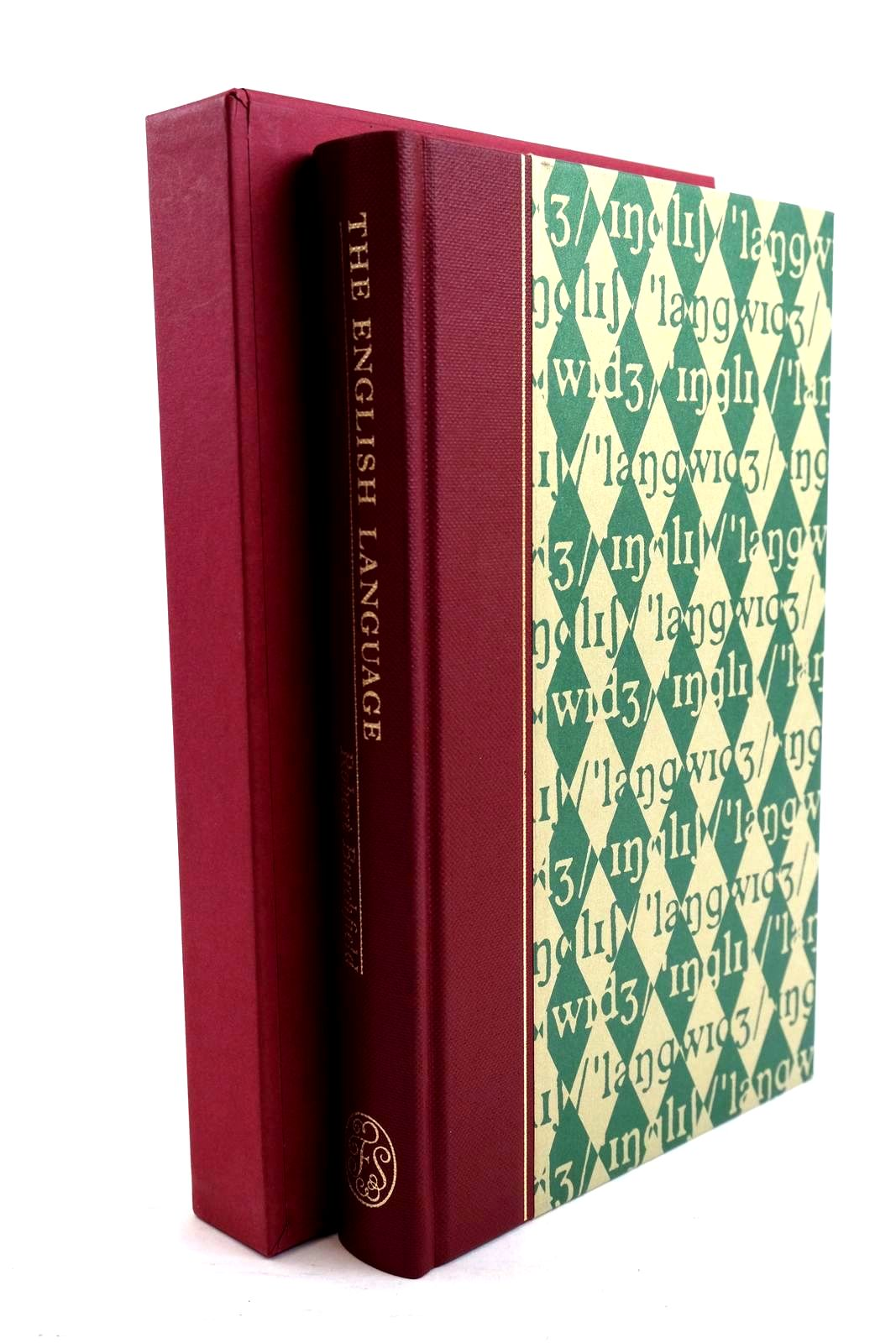 Photo of THE ENGLISH LANGUAGE written by Burchfield, Robert McCrum, Robert Simpson, John published by Folio Society (STOCK CODE: 1320661)  for sale by Stella & Rose's Books