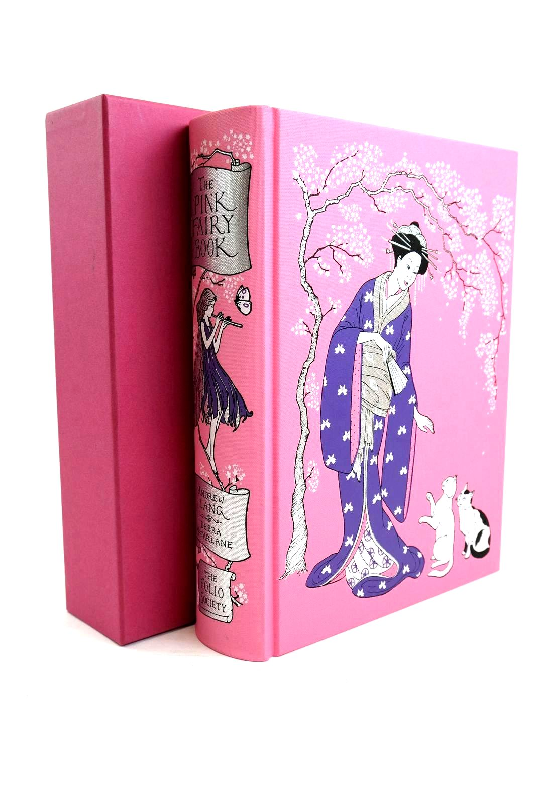 Photo of THE PINK FAIRY BOOK written by Lang, Andrew illustrated by McFarlane, Debra published by Folio Society (STOCK CODE: 1320684)  for sale by Stella & Rose's Books