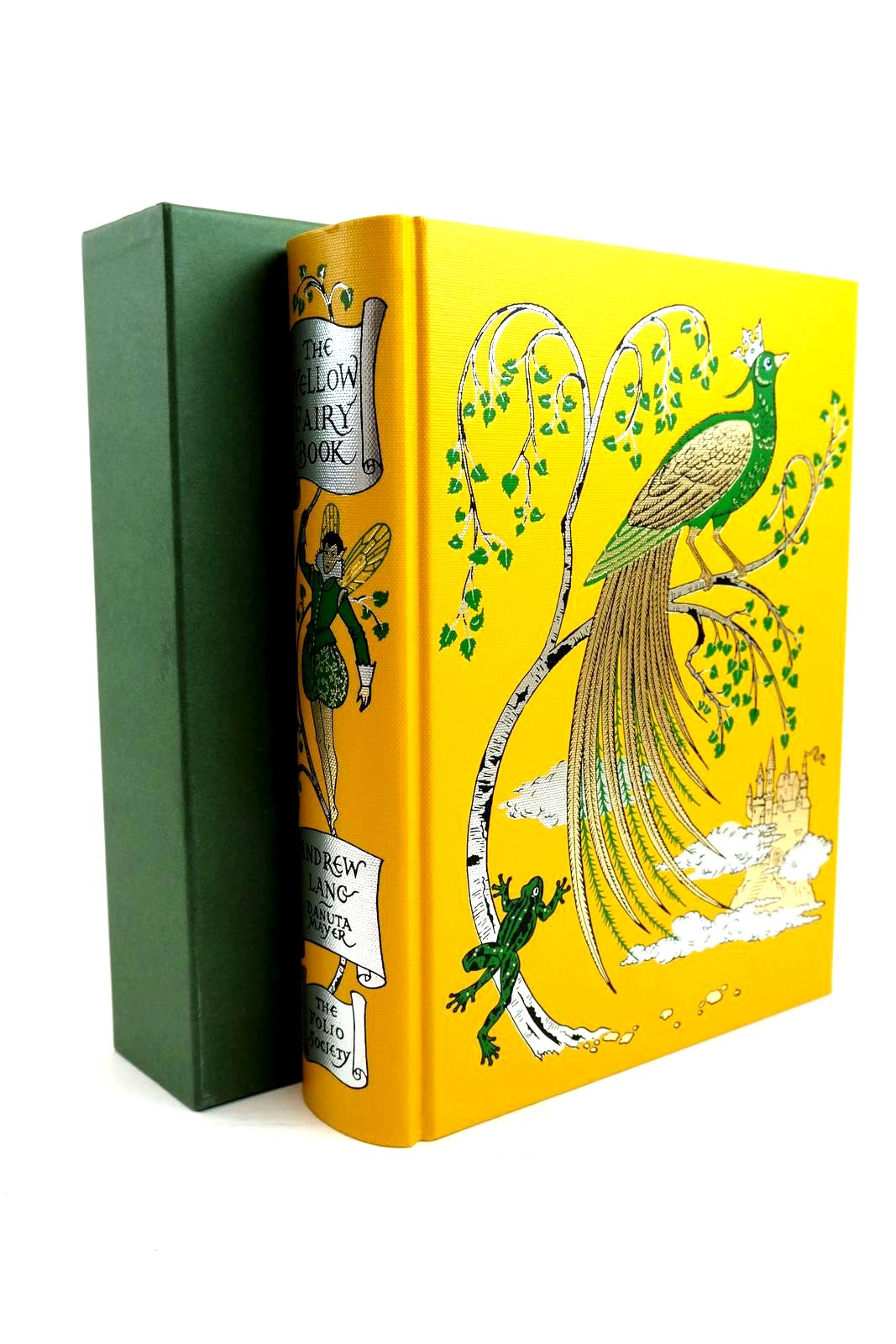 Photo of THE YELLOW FAIRY BOOK written by Lang, Andrew Tatar, Maria illustrated by Mayer, Danuta published by Folio Society (STOCK CODE: 1320685)  for sale by Stella & Rose's Books