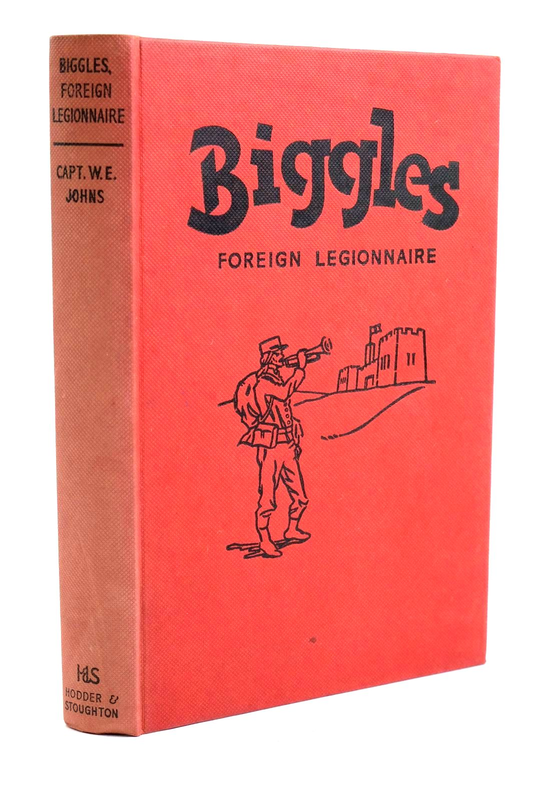 Photo of BIGGLES FOREIGN LEGIONNAIRE written by Johns, W.E. illustrated by Stead,  published by Hodder & Stoughton (STOCK CODE: 1320697)  for sale by Stella & Rose's Books