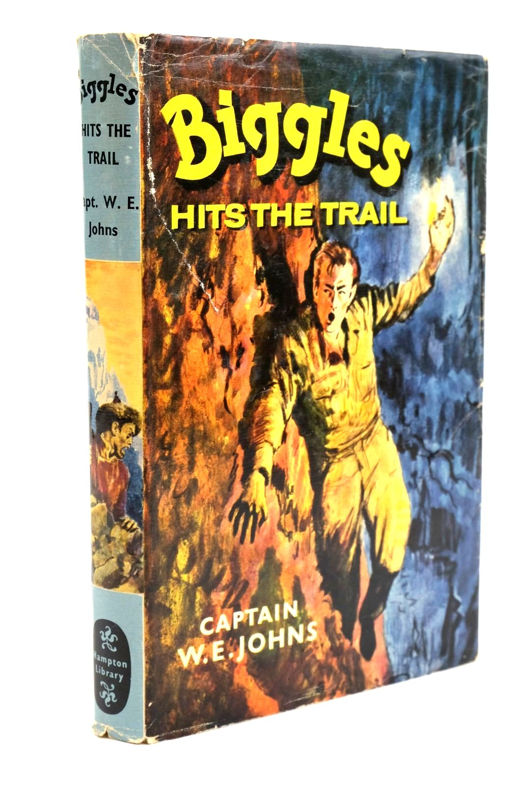 Photo of BIGGLES HITS THE TRAIL written by Johns, W.E. published by Brockhampton Books (STOCK CODE: 1320702)  for sale by Stella & Rose's Books