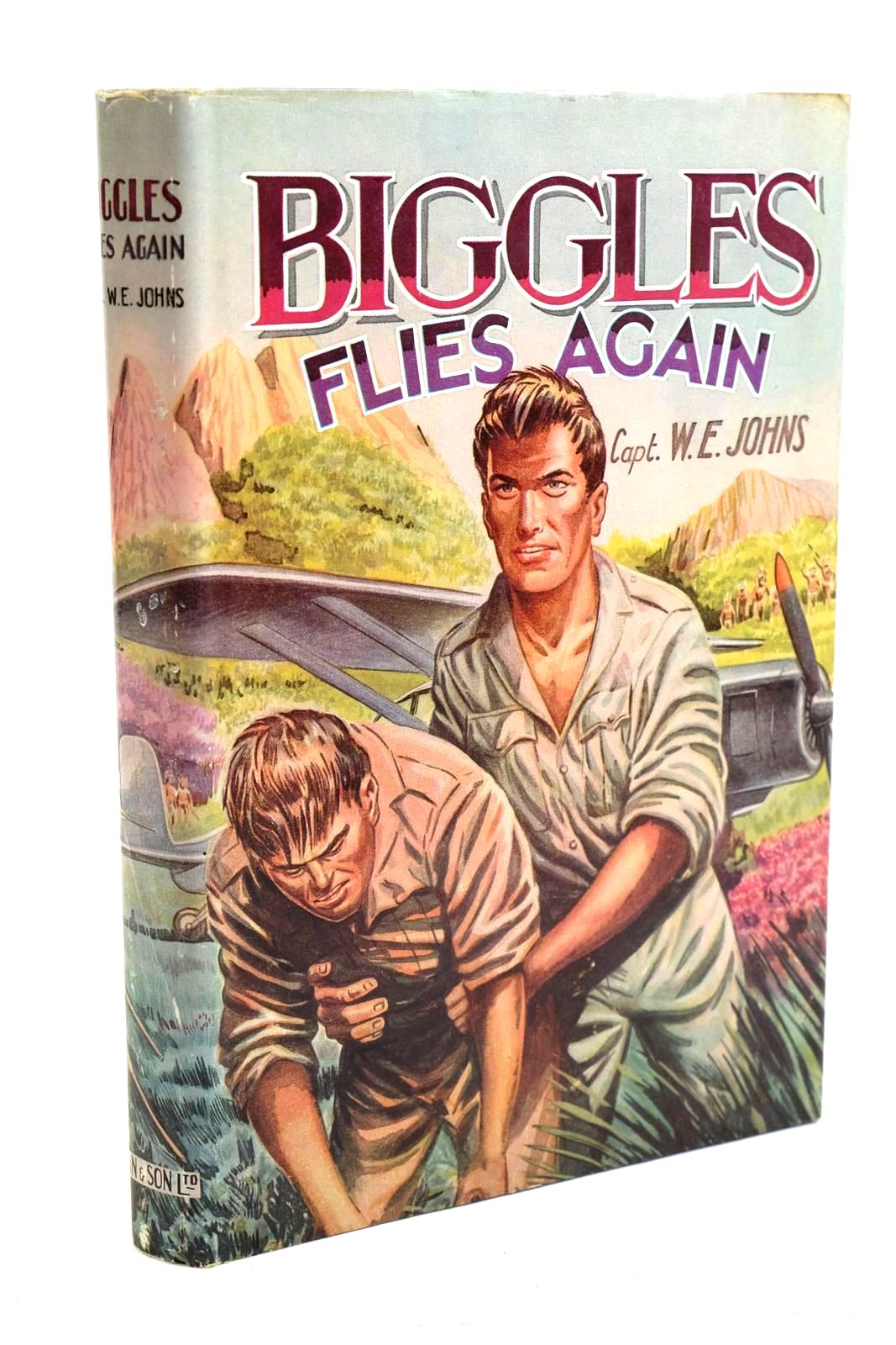 Photo of BIGGLES FLIES AGAIN written by Johns, W.E. published by Dean & Son Ltd. (STOCK CODE: 1320704)  for sale by Stella & Rose's Books