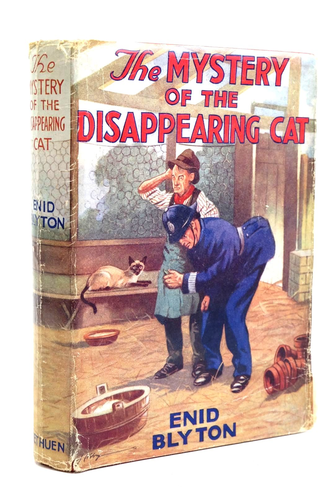 Photo of THE MYSTERY OF THE DISAPPEARING CAT written by Blyton, Enid illustrated by Abbey, J. published by Methuen & Co. Ltd. (STOCK CODE: 1320719)  for sale by Stella & Rose's Books