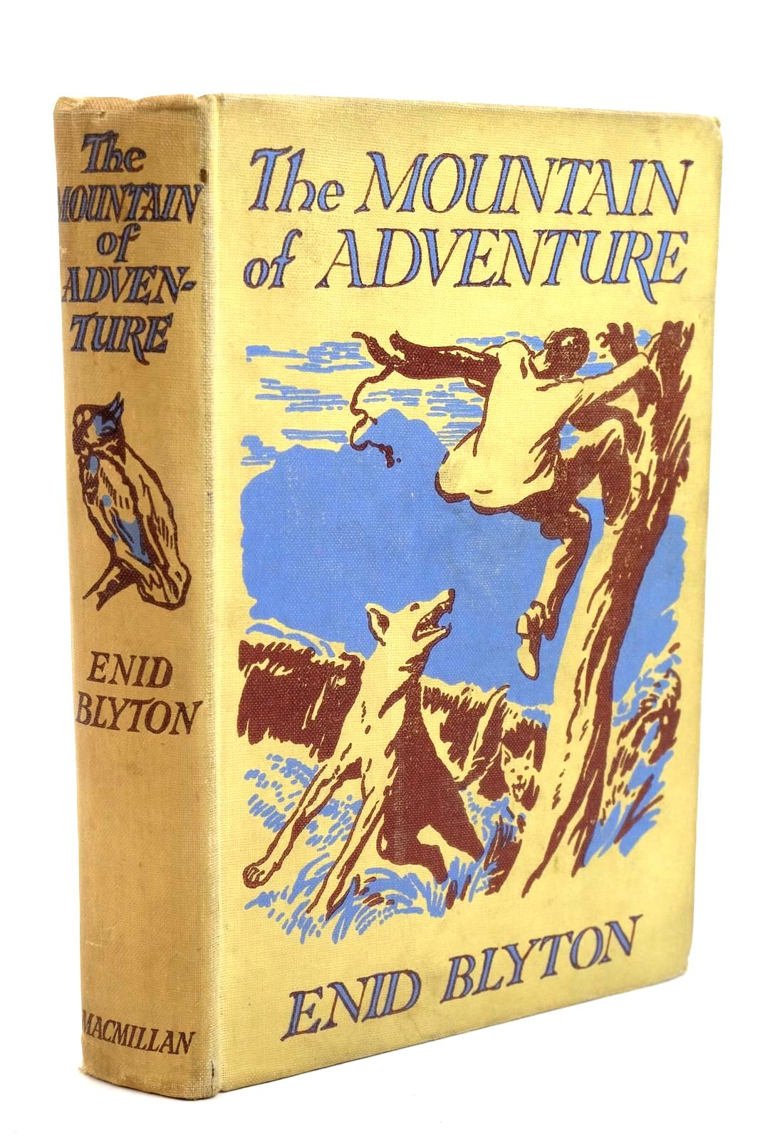 Photo of THE MOUNTAIN OF ADVENTURE written by Blyton, Enid illustrated by Tresilian, Stuart published by Macmillan & Co. Ltd. (STOCK CODE: 1320740)  for sale by Stella & Rose's Books