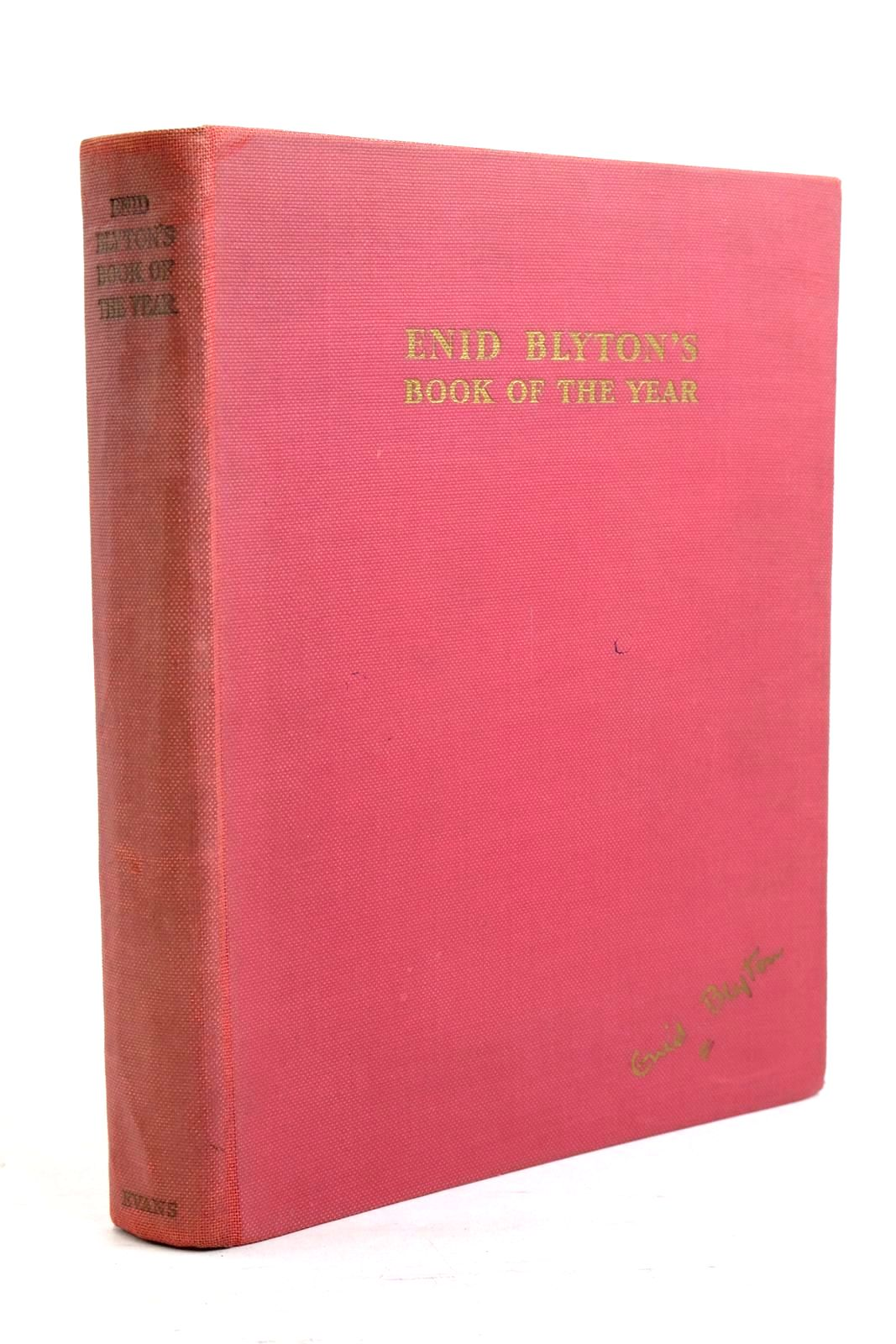 Photo of ENID BLYTON'S BOOK OF THE YEAR written by Blyton, Enid illustrated by Soper, Eileen published by Evans Brothers Limited (STOCK CODE: 1320756)  for sale by Stella & Rose's Books