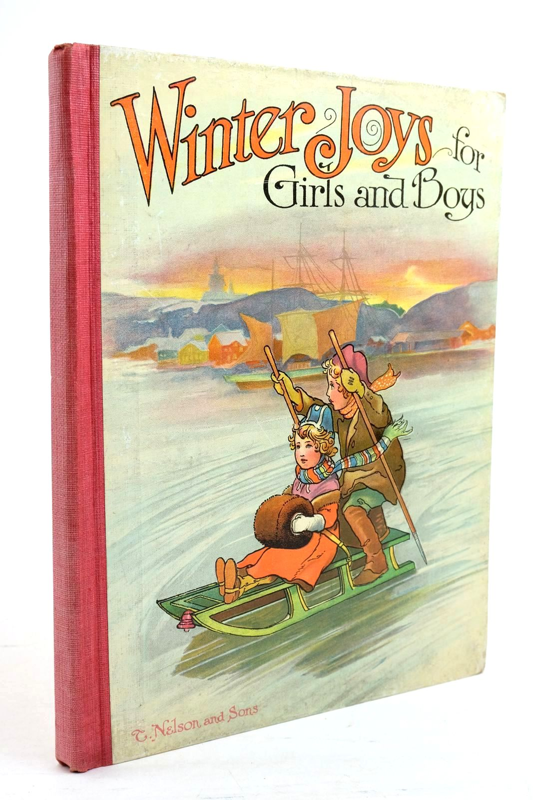 Photo of WINTER JOYS FOR GIRLS AND BOYS illustrated by Hassall, John Lance, E. et al.,  published by Thomas Nelson & Sons (STOCK CODE: 1320793)  for sale by Stella & Rose's Books