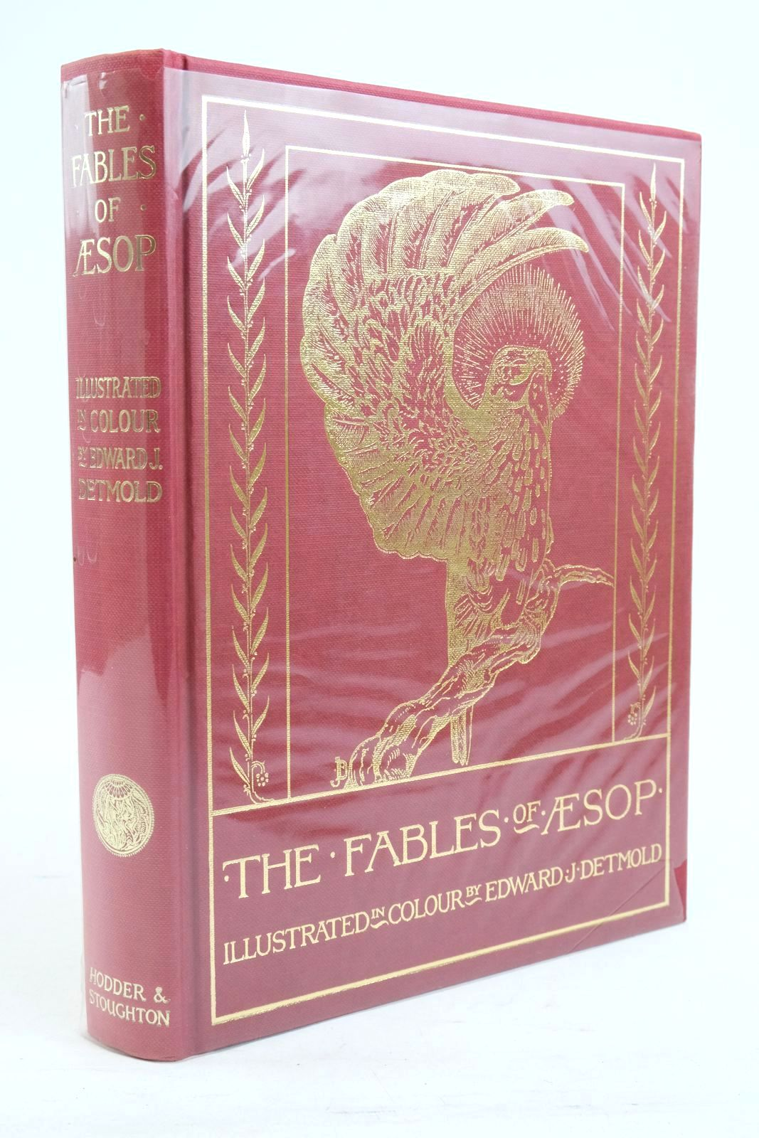 Photo of THE FABLES OF AESOP written by Aesop,  illustrated by Detmold, Edward J. published by Hodder & Stoughton (STOCK CODE: 1320797)  for sale by Stella & Rose's Books