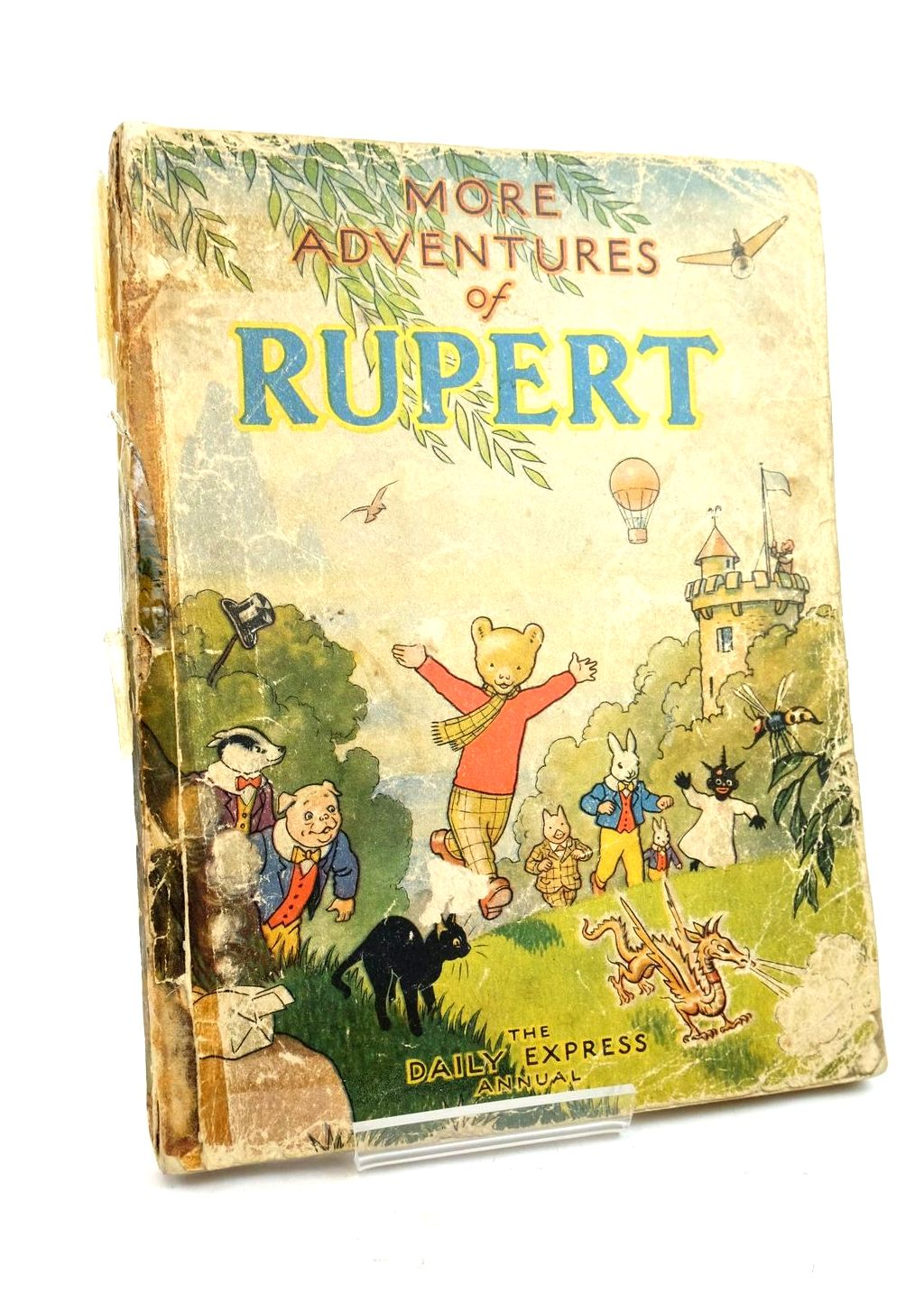 Photo of RUPERT ANNUAL 1947 - MORE ADVENTURES OF RUPERT written by Bestall, Alfred illustrated by Bestall, Alfred published by Daily Express (STOCK CODE: 1320801)  for sale by Stella & Rose's Books