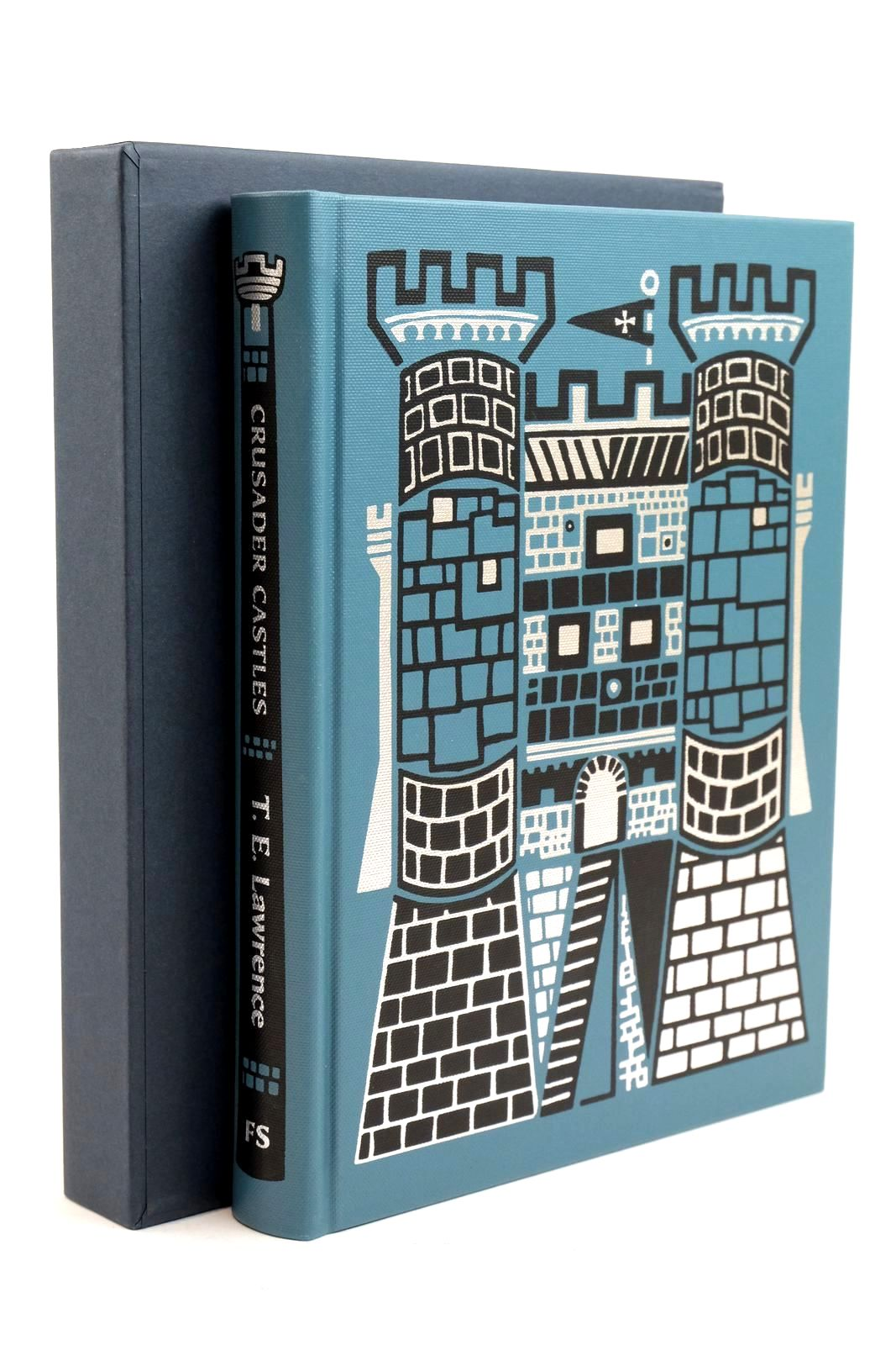 Photo of CRUSADER CASTLES written by Lawrence, T.E. Bostridge, Mark published by Folio Society (STOCK CODE: 1320844)  for sale by Stella & Rose's Books