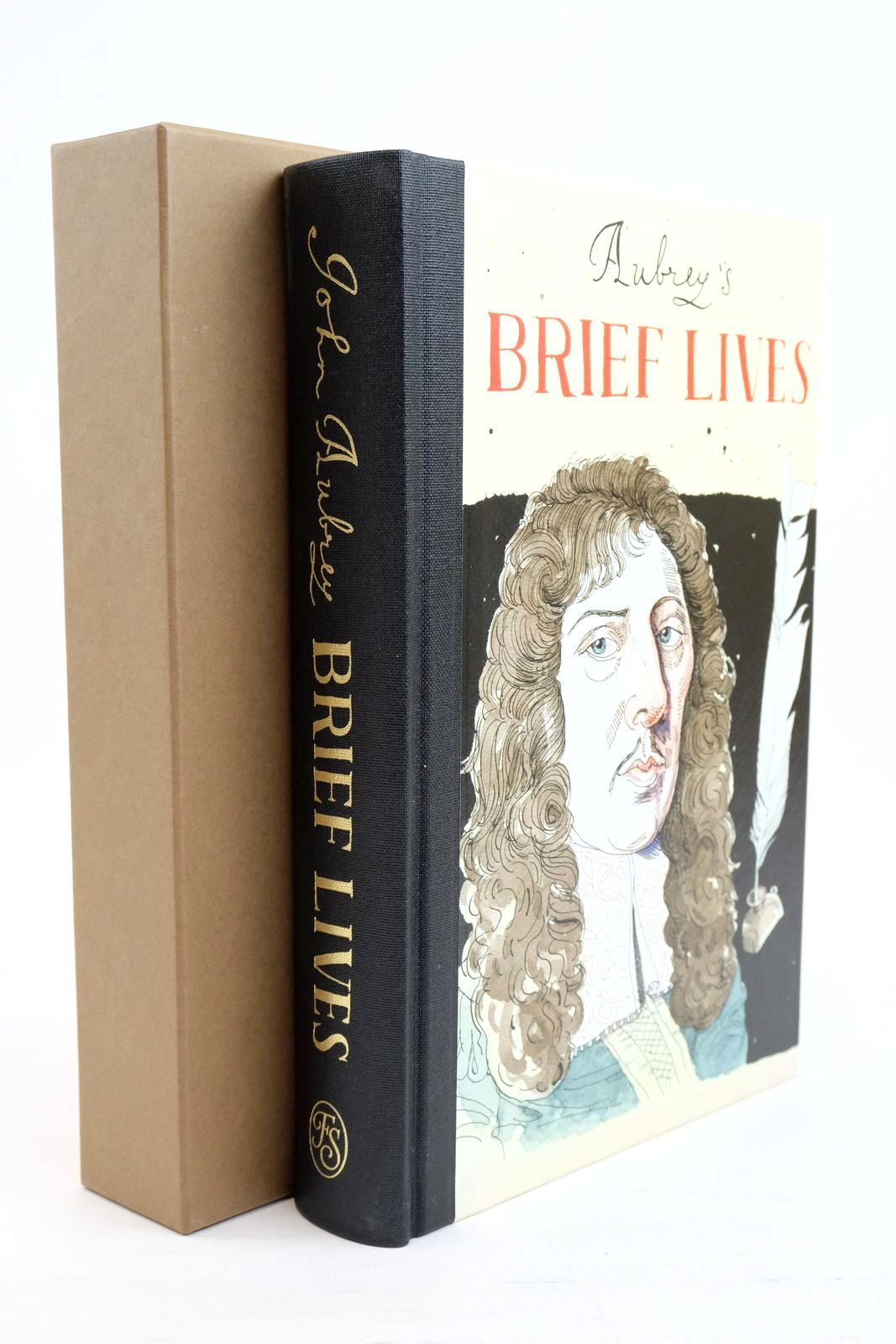 Photo of BRIEF LIVES written by Aubrey, John Dick, Oliver Lawson Conrad, Peter illustrated by Ciardiello, Joseph published by Folio Society (STOCK CODE: 1320862)  for sale by Stella & Rose's Books