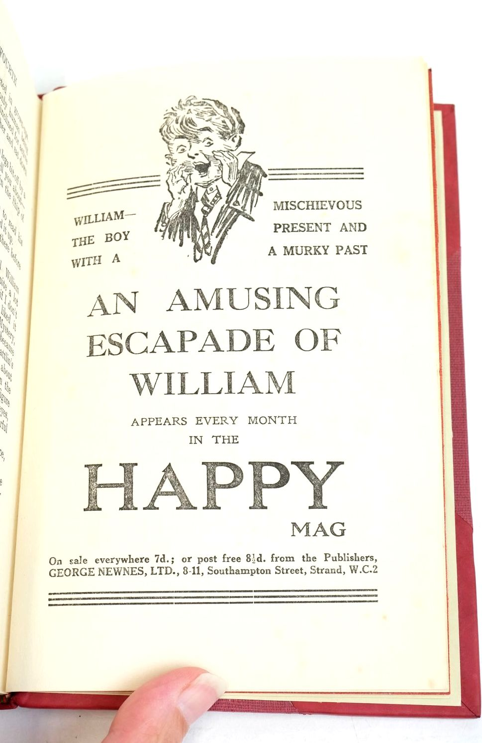 Photo of WILLIAM THE FOURTH written by Crompton, Richmal illustrated by Henry, Thomas published by George Newnes Limited (STOCK CODE: 1320866)  for sale by Stella & Rose's Books