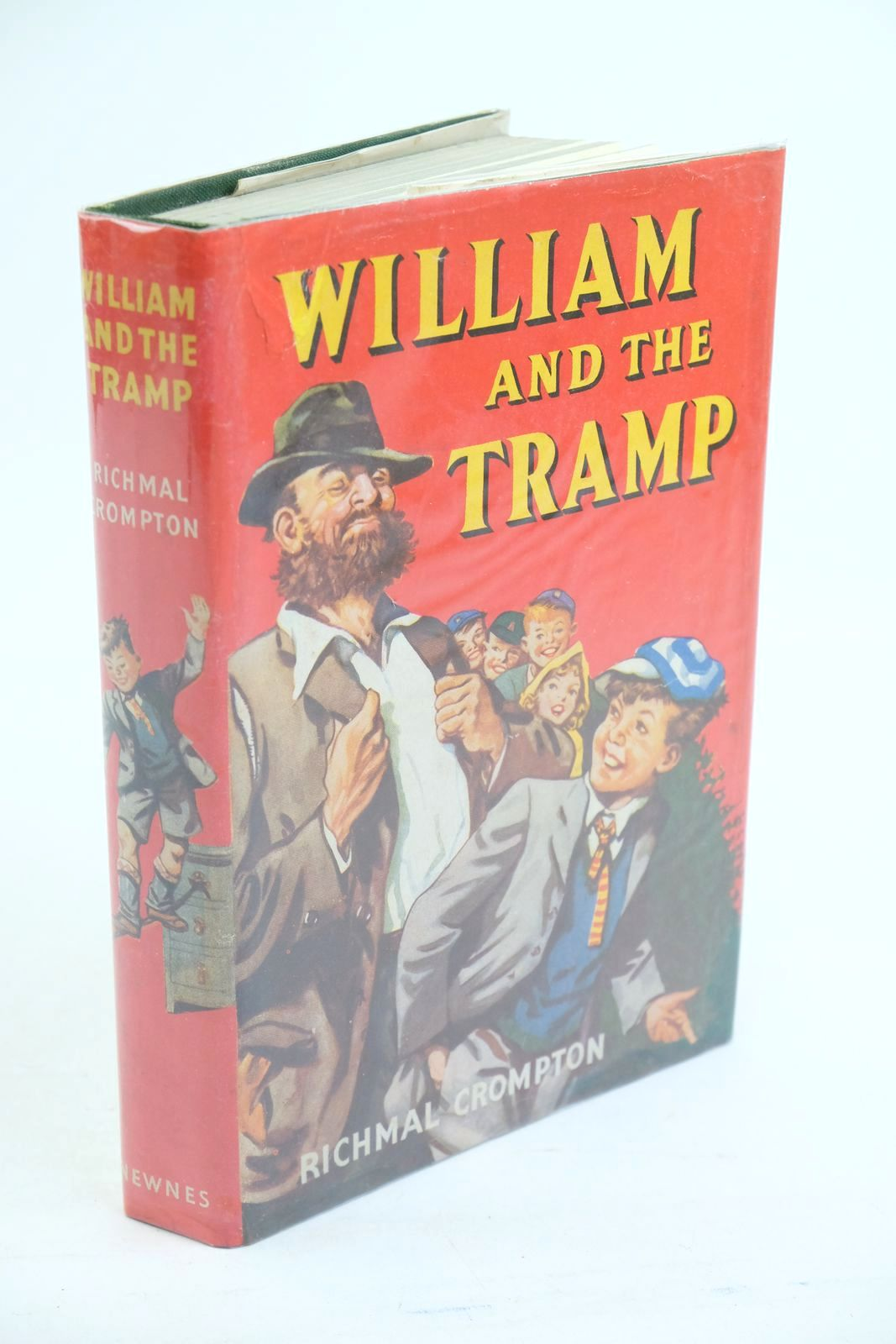 Photo of WILLIAM AND THE TRAMP written by Crompton, Richmal illustrated by Henry, Thomas published by George Newnes Ltd. (STOCK CODE: 1320870)  for sale by Stella & Rose's Books