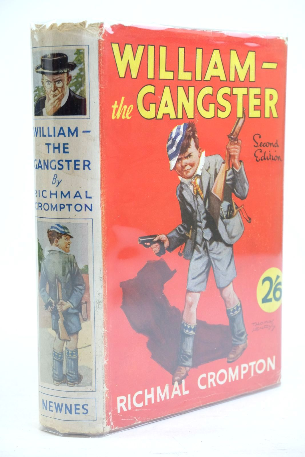 Photo of WILLIAM THE GANGSTER written by Crompton, Richmal illustrated by Henry, Thomas published by George Newnes Ltd. (STOCK CODE: 1320871)  for sale by Stella & Rose's Books