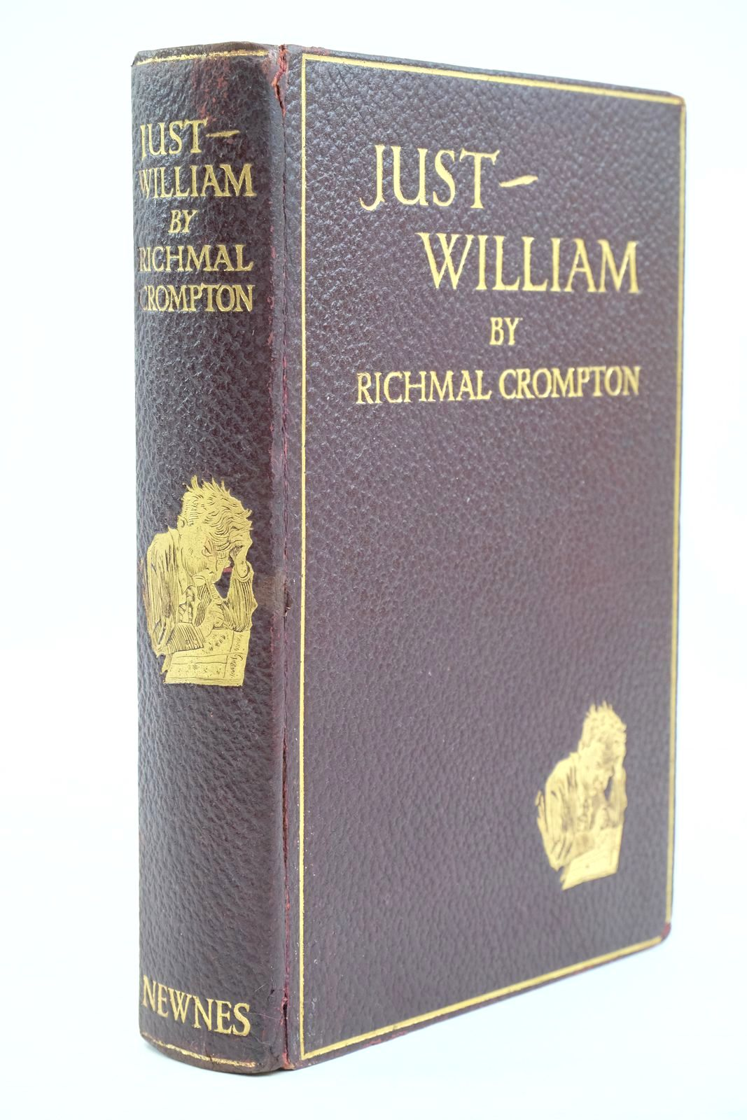 Photo of JUST WILLIAM written by Crompton, Richmal illustrated by Henry, Thomas published by George Newnes Limited (STOCK CODE: 1320872)  for sale by Stella & Rose's Books