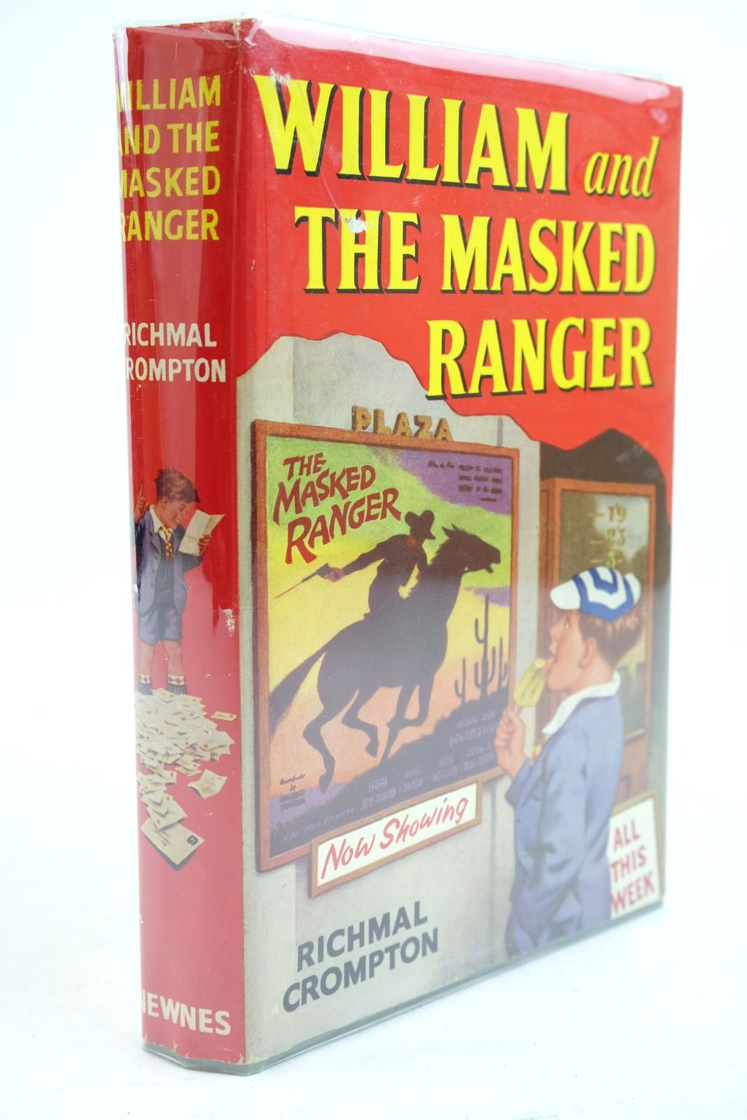 Photo of WILLIAM AND THE MASKED RANGER written by Crompton, Richmal illustrated by Ford, Henry published by George Newnes Ltd. (STOCK CODE: 1320874)  for sale by Stella & Rose's Books
