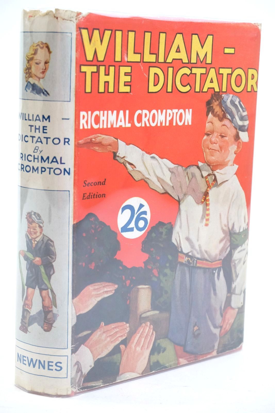 Photo of WILLIAM THE DICTATOR written by Crompton, Richmal illustrated by Henry, Thomas published by George Newnes Limited (STOCK CODE: 1320875)  for sale by Stella & Rose's Books