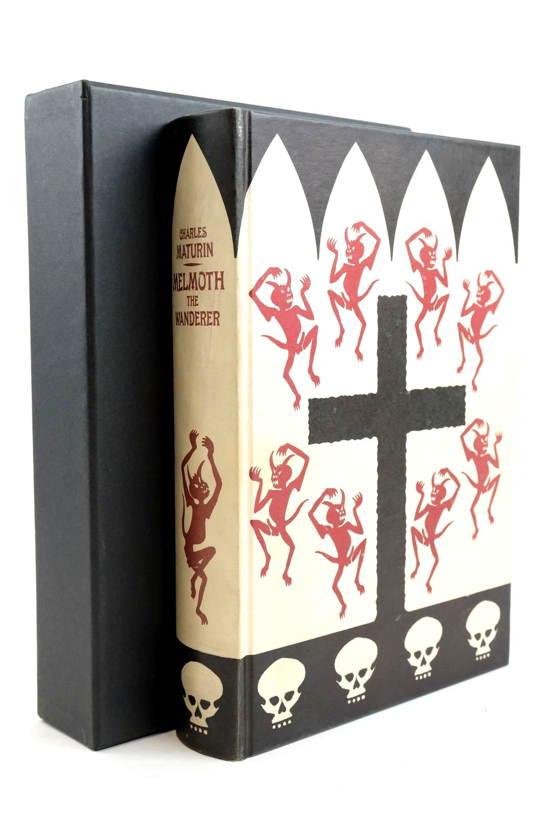 Photo of MELMOTH THE WANDERER written by Maturin, Charles illustrated by Zakar, Felix published by Folio Society (STOCK CODE: 1320897)  for sale by Stella & Rose's Books