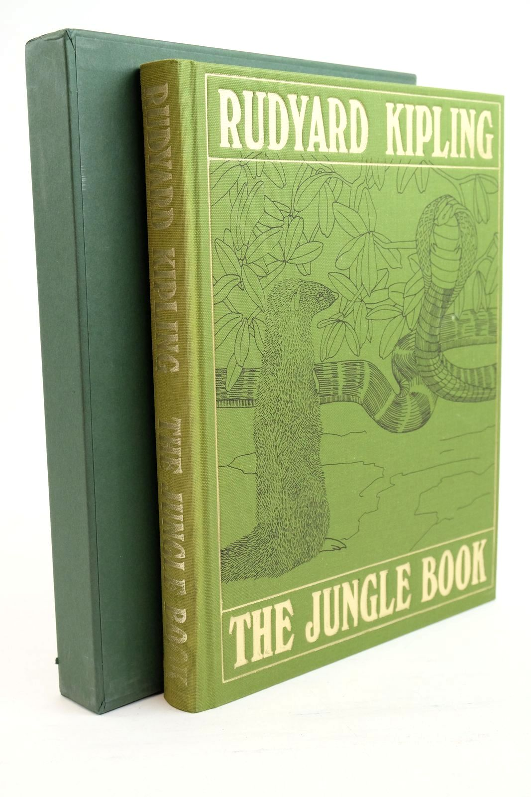 Photo of THE JUNGLE BOOK written by Kipling, Rudyard illustrated by Detmold, Maurice Detmold, Edward J. published by Folio Society (STOCK CODE: 1320915)  for sale by Stella & Rose's Books