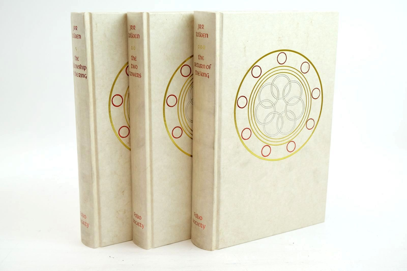 Photo of THE LORD OF THE RINGS written by Tolkien, J.R.R. illustrated by Grathmer, Ingahild Fraser, Eric published by Folio Society (STOCK CODE: 1320923)  for sale by Stella & Rose's Books
