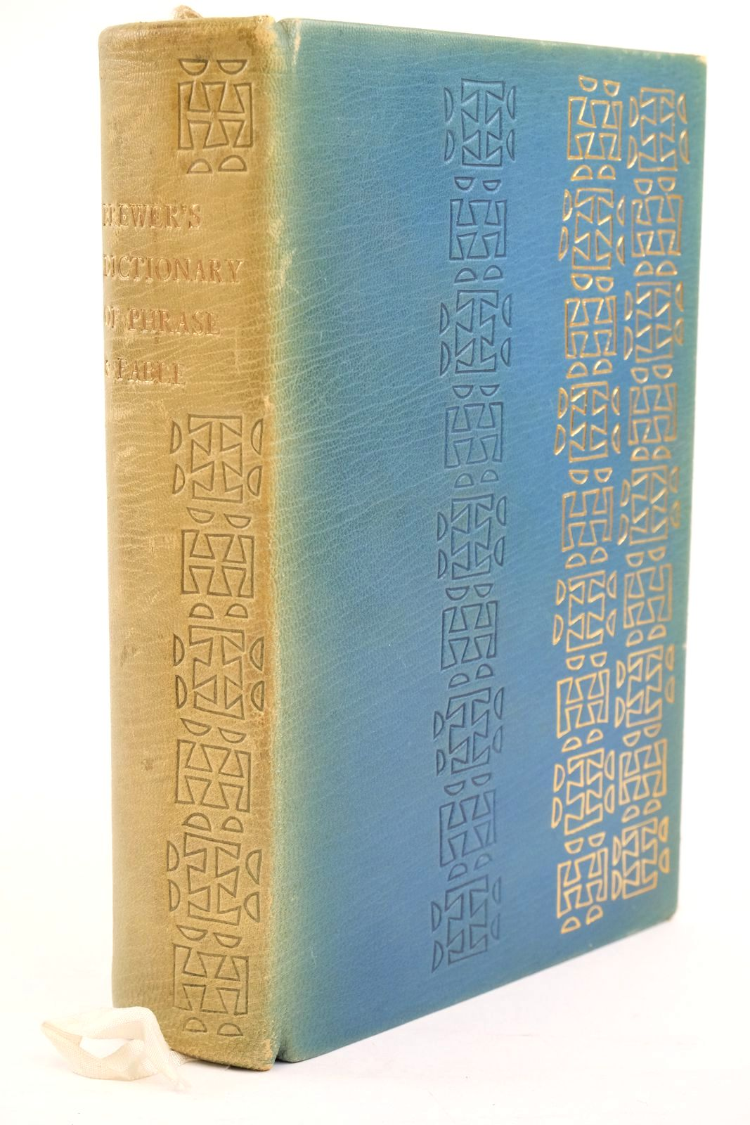 Photo of BREWER'S DICTIONARY OF PHRASE AND FABLE written by Brewer, Ebenezer Cobham Evans, Ivor H. published by Folio Society (STOCK CODE: 1320949)  for sale by Stella & Rose's Books