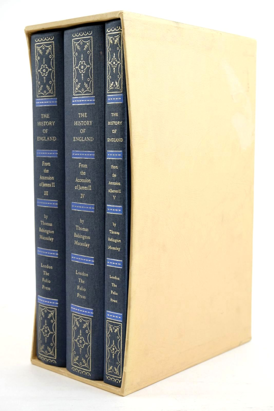 Photo of THE HISTORY OF ENGLAND FROM THE ACCESSION OF JAMES II (THREE VOLUMES)- Stock Number: 1320951