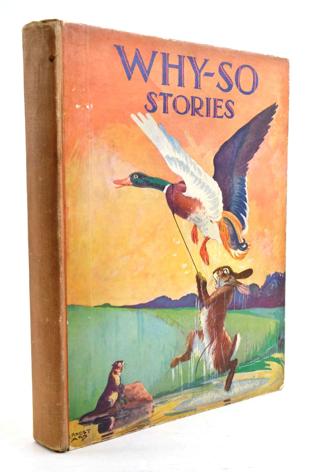 Photo of WHY-SO STORIES OF BIRDS & BEASTS FROM FOLK-LORE & LEGEND- Stock Number: 1321014