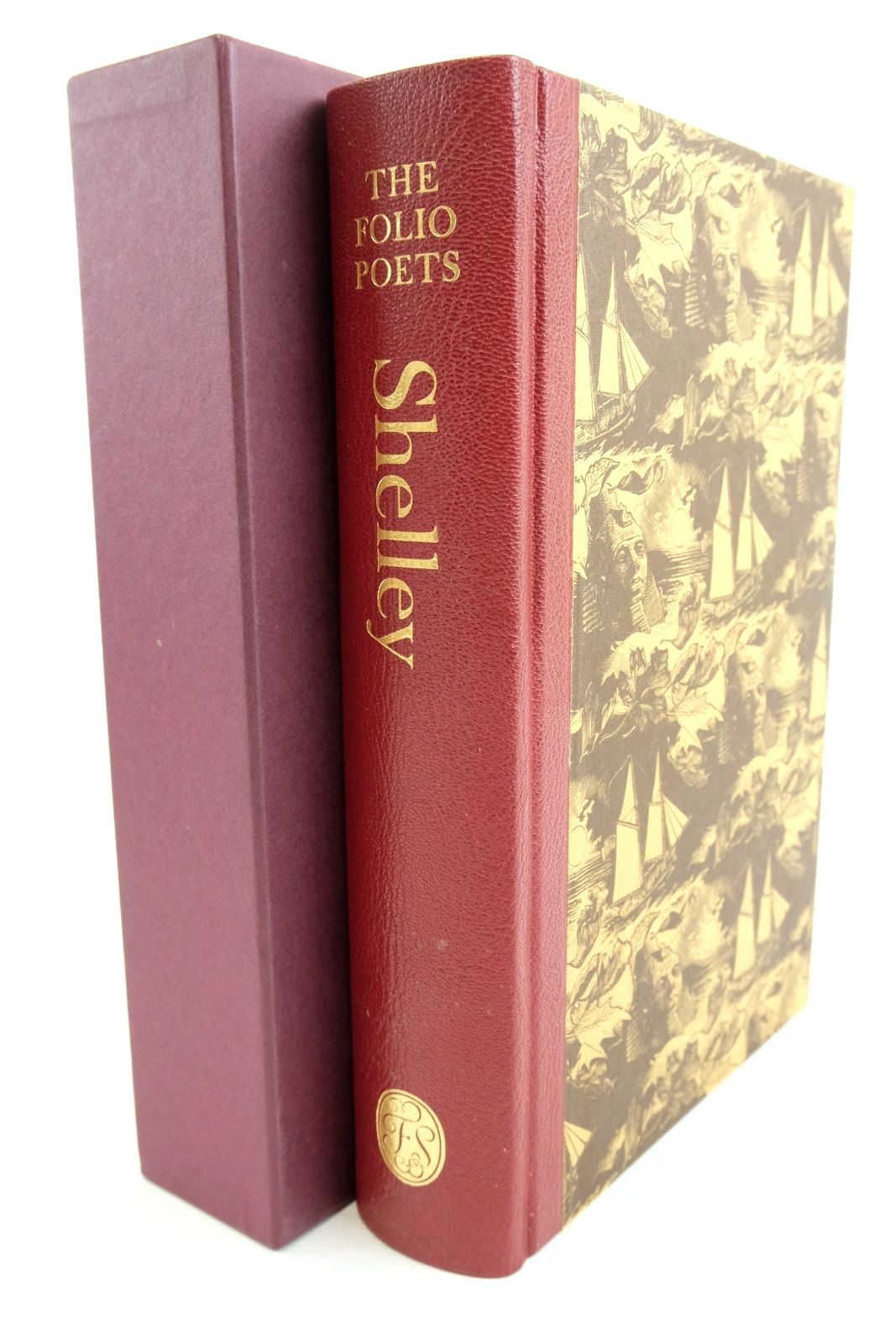 Photo of SHELLEY COLLECTED POEMS written by Shelley,  Bysshe, Percy illustrated by Brett, Simon published by Folio Society (STOCK CODE: 1321021)  for sale by Stella & Rose's Books