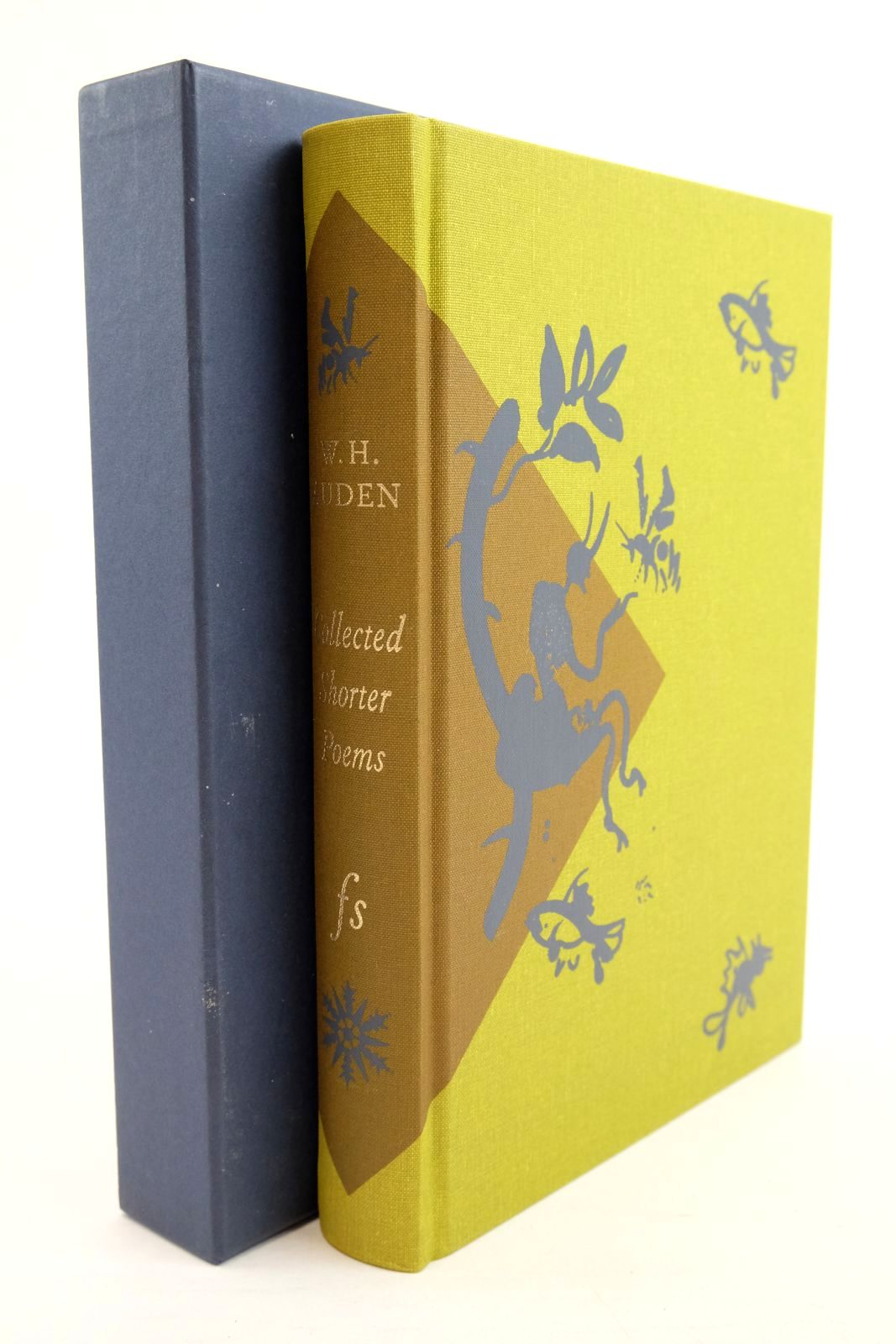 Photo of COLLECTED SHORTER POEMS 1927-1957 written by Auden, W.H. Smith, Alexander illustrated by Grimwood, Brian published by Folio Society (STOCK CODE: 1321026)  for sale by Stella & Rose's Books