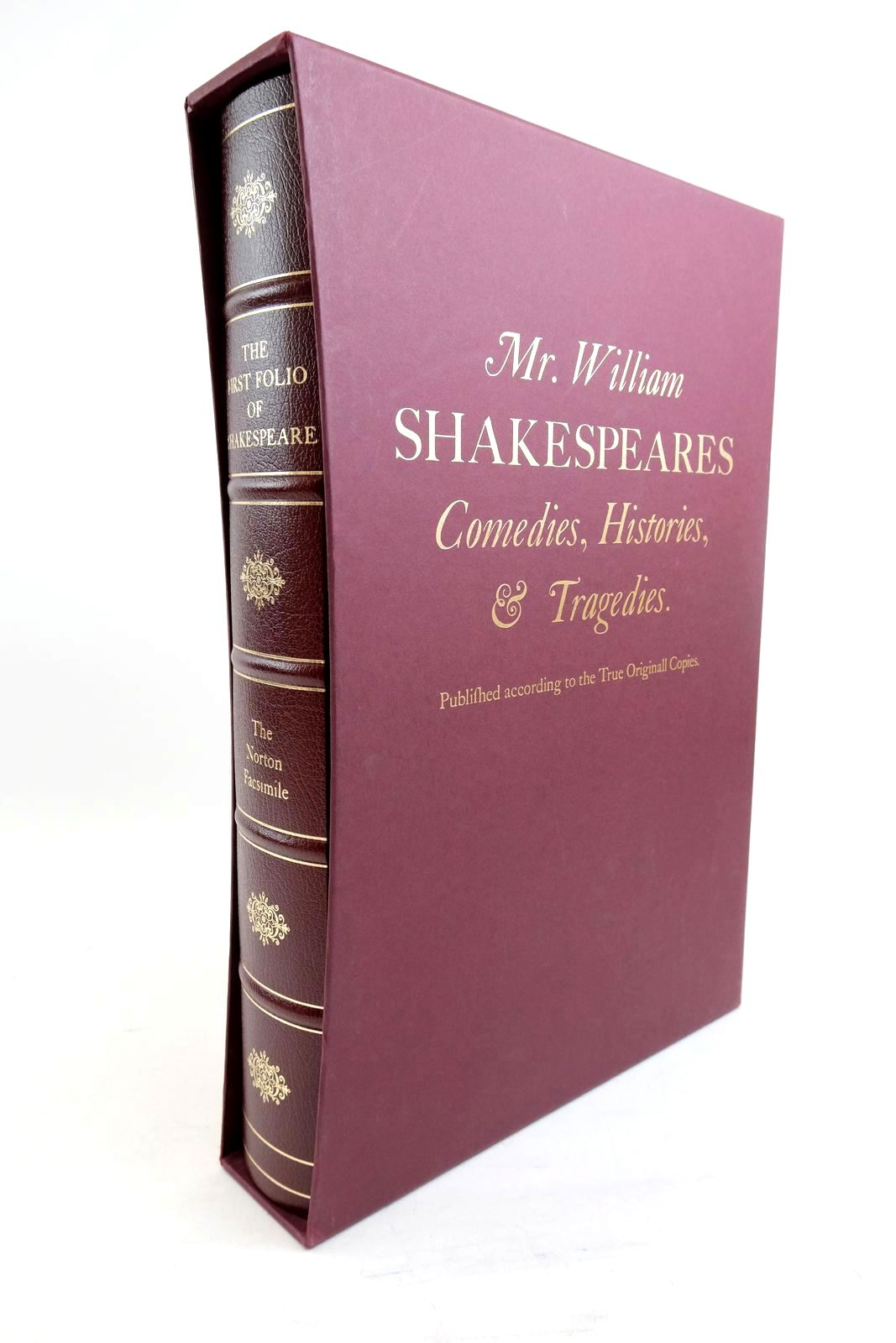 Photo of THE FIRST FOLIO OF SHAKESPEARE- Stock Number: 1321038