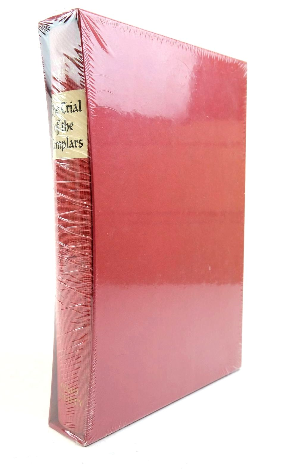 Photo of THE TRIAL OF THE TEMPLARS written by Barber, Malcolm published by Folio Society (STOCK CODE: 1321119)  for sale by Stella & Rose's Books