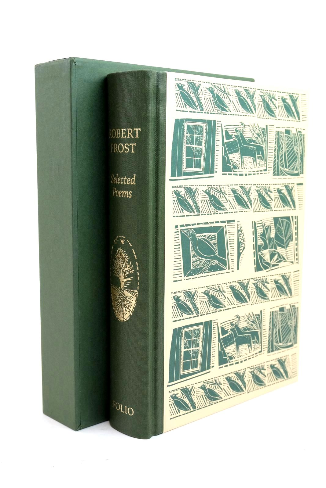 Photo of SELECTED POEMS written by Frost, Robert illustrated by Gibbs, Jonathan published by Folio Society (STOCK CODE: 1321129)  for sale by Stella & Rose's Books