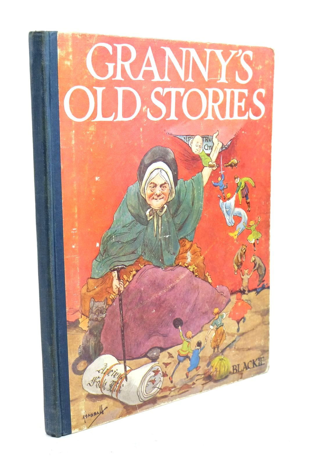 Photo of GRANNY'S OLD STORIES illustrated by Hassall, John published by Blackie & Son Ltd. (STOCK CODE: 1321143)  for sale by Stella & Rose's Books