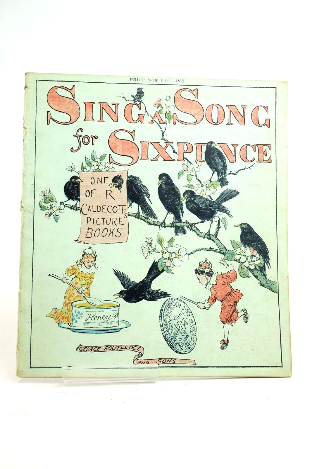 Photo of SING A SONG OF SIXPENCE illustrated by Caldecott, Randolph (STOCK CODE: 1321148)  for sale by Stella & Rose's Books