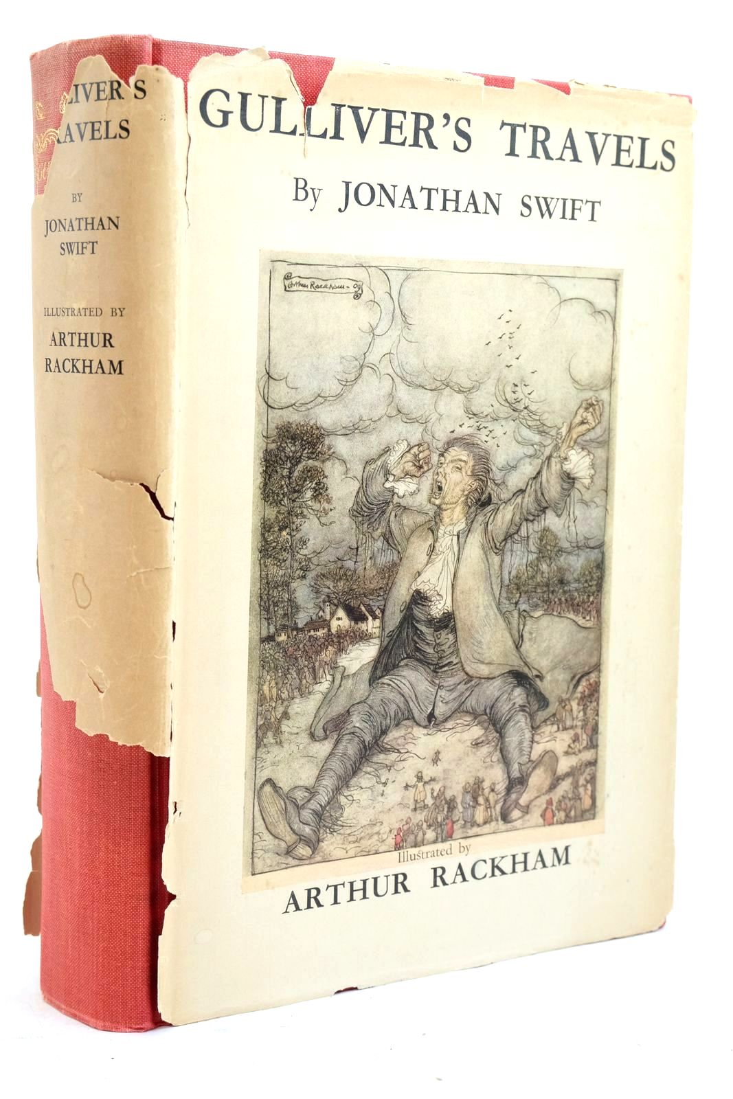 Photo of GULLIVER'S TRAVELS INTO SEVERAL REMOTE NATIONS OF THE WORLD written by Swift, Jonathan illustrated by Rackham, Arthur published by The Temple Press (STOCK CODE: 1321159)  for sale by Stella & Rose's Books