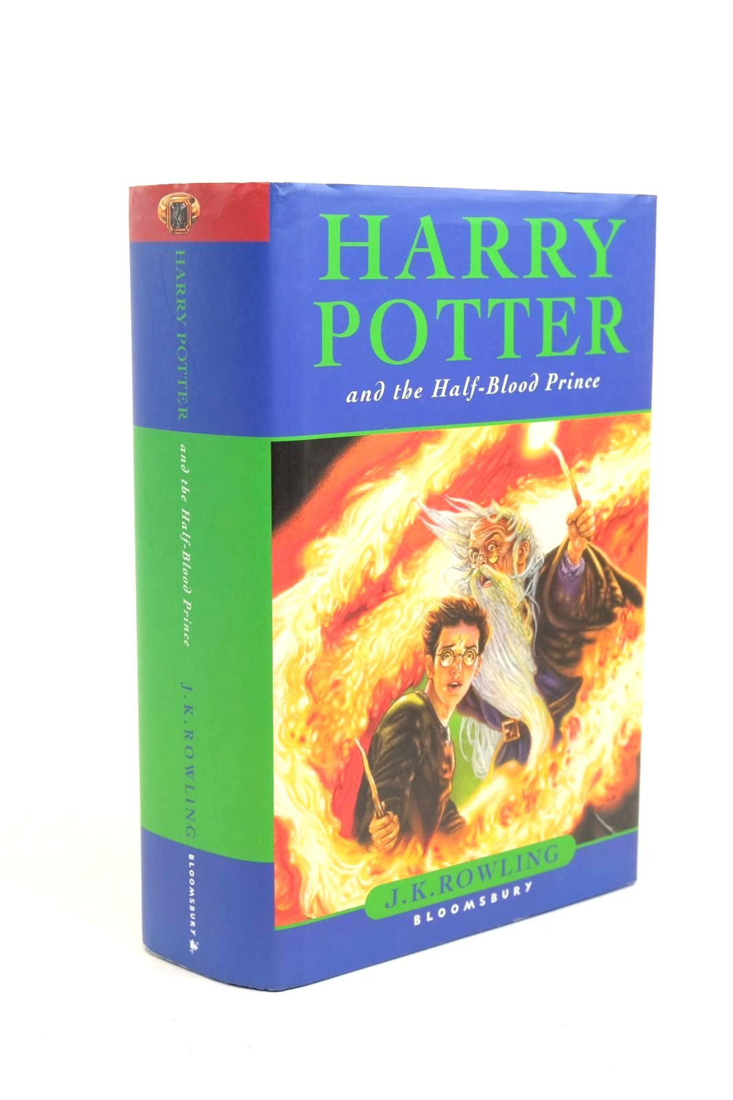 Photo of HARRY POTTER AND THE HALF-BLOOD PRINCE written by Rowling, J.K. published by Bloomsbury (STOCK CODE: 1321174)  for sale by Stella & Rose's Books