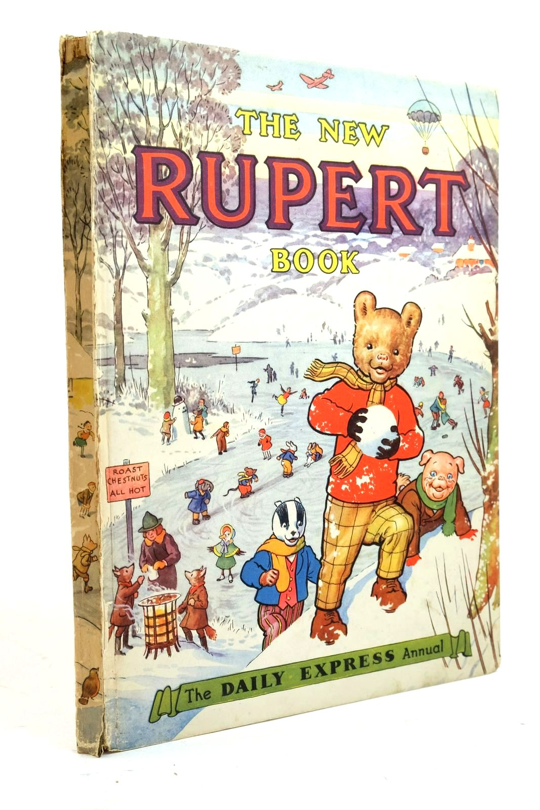 Photo of RUPERT ANNUAL 1951 - THE NEW RUPERT BOOK- Stock Number: 1321191