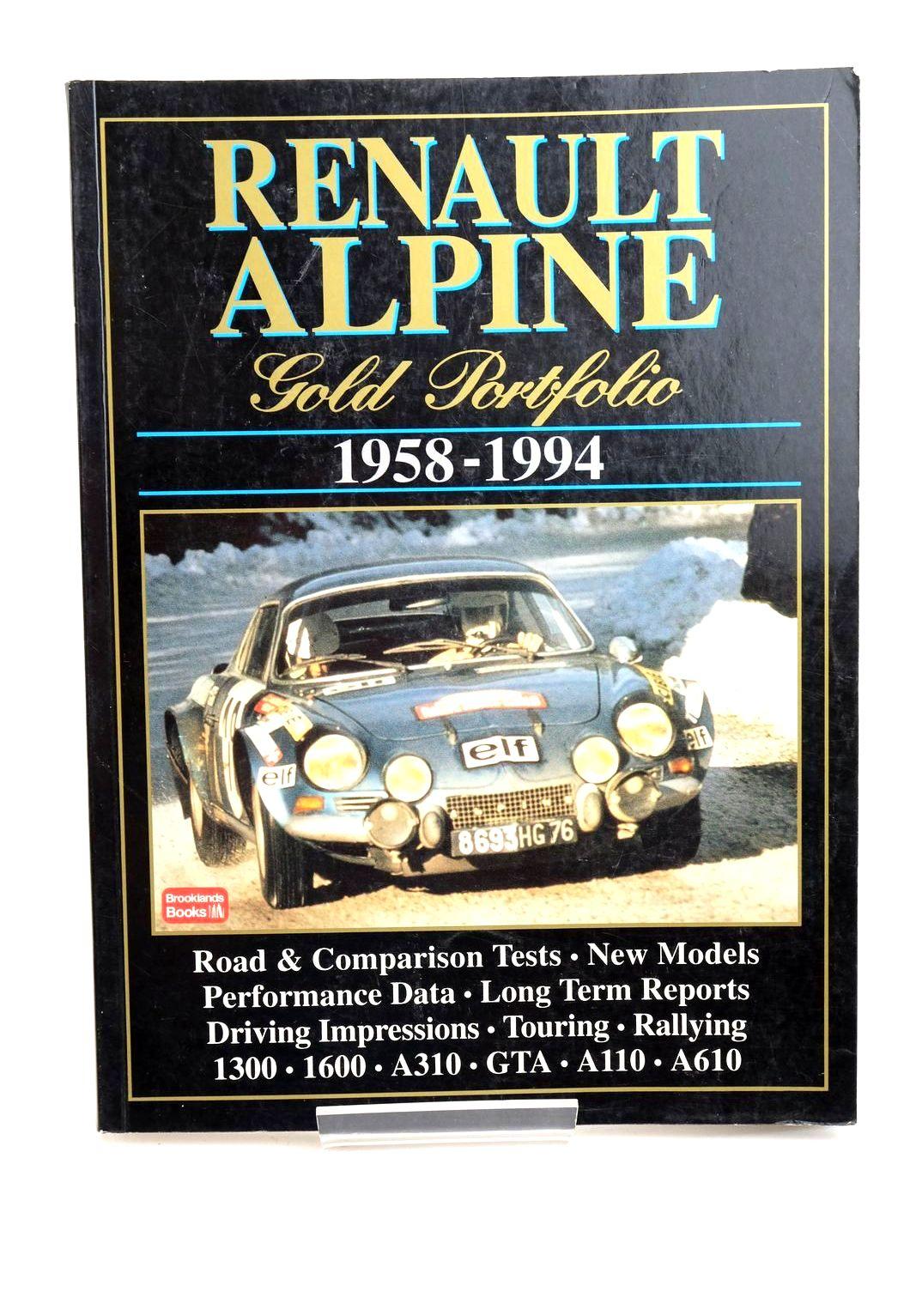 Photo of RENAULT ALPINE GOLD PORTFOLIO 1958-1994- Stock Number: 1321224