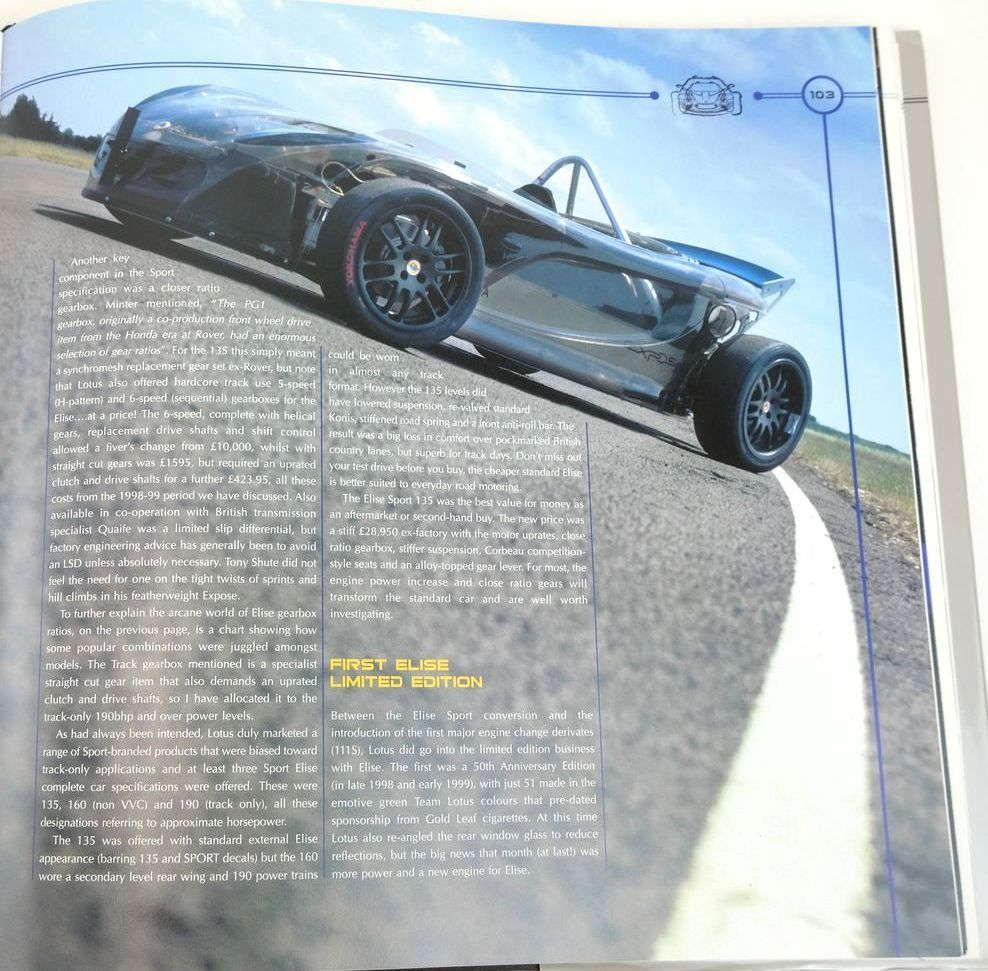 Photo of LOTUS ELISE THE OFFICIAL STORY written by Walton, Jeremy published by Coterie Press Limited (STOCK CODE: 1321230)  for sale by Stella & Rose's Books