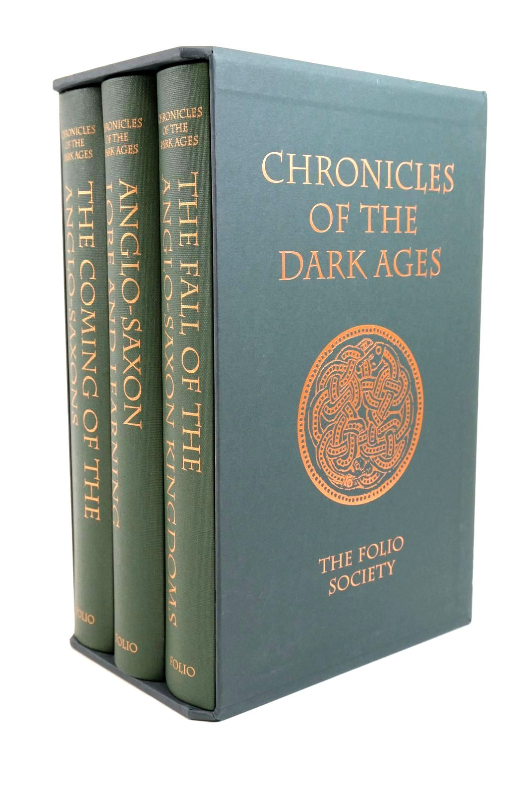 Photo of CHRONICLES OF THE DARK AGES (3 VOLUMES) written by Barber, Richard published by Folio Society (STOCK CODE: 1321319)  for sale by Stella & Rose's Books