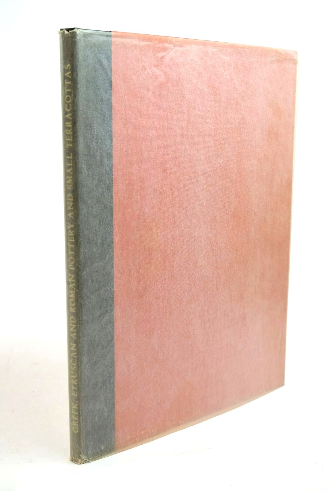 Photo of GREEK, ETRUSCAN AND ROMAN POTTERY AND SMALL TERRACOTTAS written by Nicholson, Felicity published by Folio Society, Collectors' Corner (STOCK CODE: 1321330)  for sale by Stella & Rose's Books