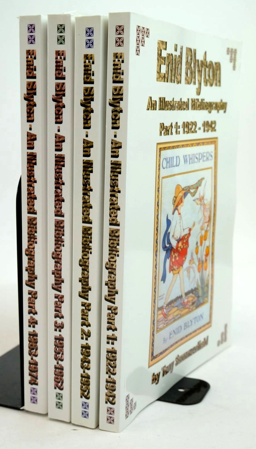 Photo of ENID BLYTON AN ILLUSTRATED BIBLIOGRAPHY PARTS 1 T0 4- Stock Number: 1321347