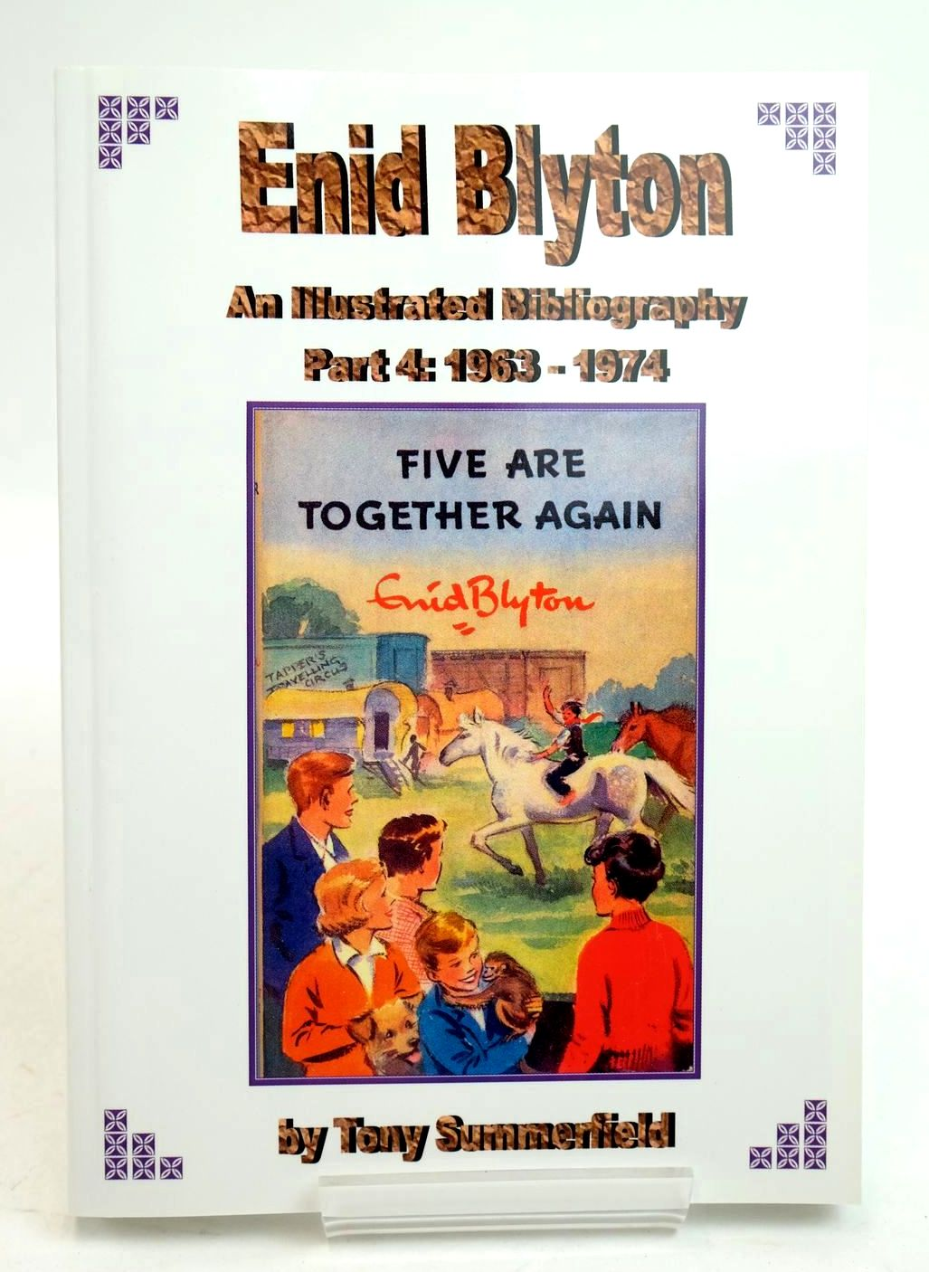 Photo of ENID BLYTON AN ILLUSTRATED BIBLIOGRAPHY PARTS 1 T0 4 written by Summerfield, Tony published by Milford Books (STOCK CODE: 1321347)  for sale by Stella & Rose's Books