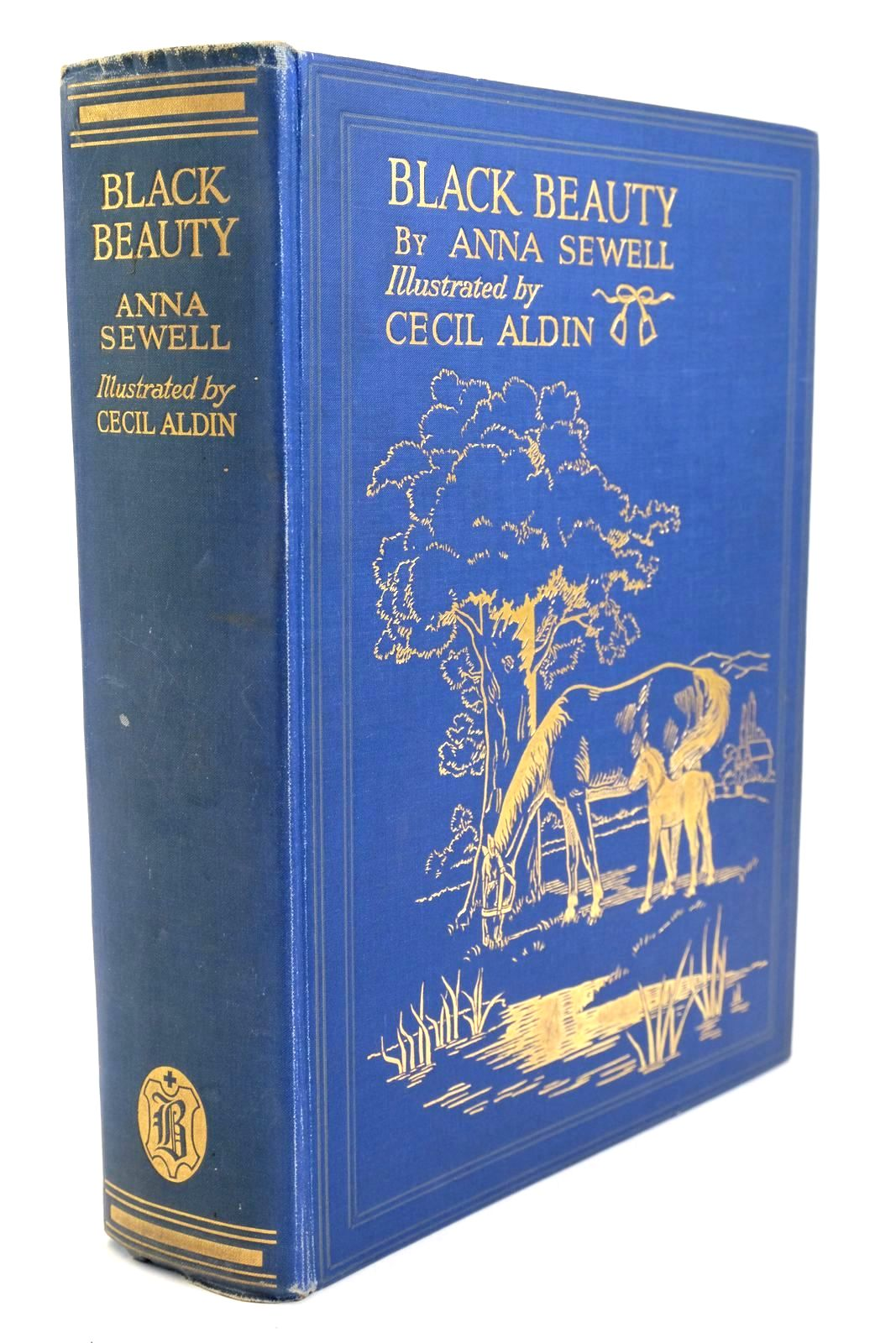 Photo of BLACK BEAUTY written by Sewell, Anna illustrated by Aldin, Cecil published by Jarrolds, Boots the Chemists (STOCK CODE: 1321401)  for sale by Stella & Rose's Books