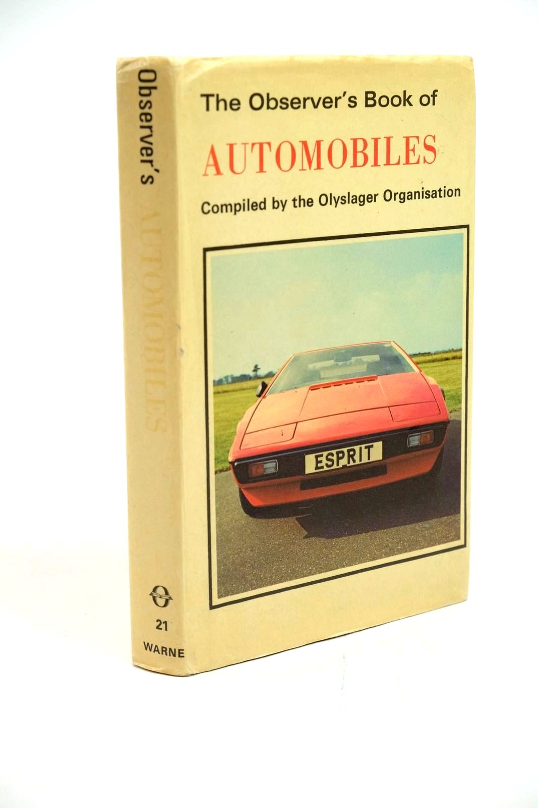 Photo of THE OBSERVER'S BOOK OF AUTOMOBILES- Stock Number: 1321423