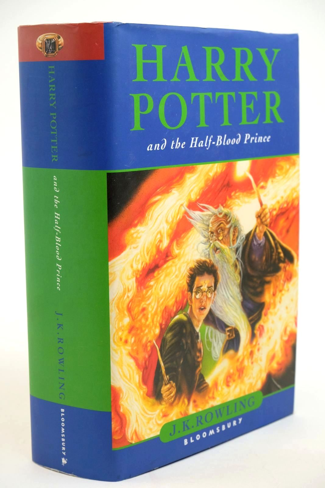 Photo of HARRY POTTER AND THE HALF-BLOOD PRINCE written by Rowling, J.K. published by Bloomsbury (STOCK CODE: 1321430)  for sale by Stella & Rose's Books
