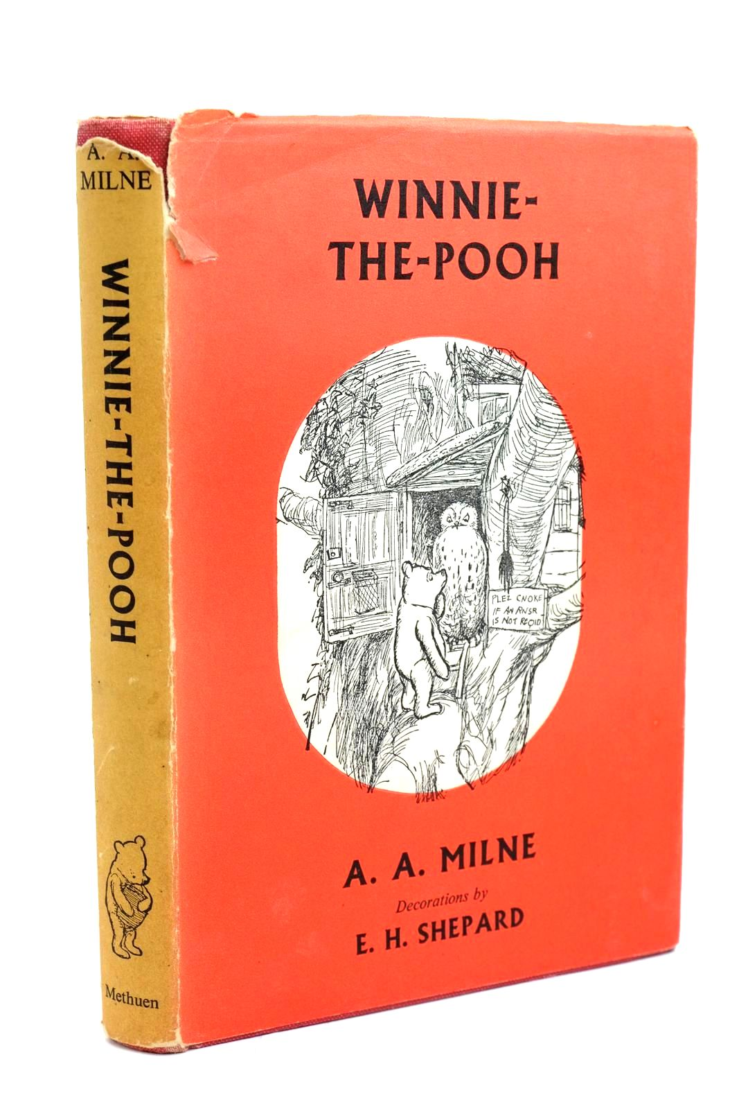 Photo of WINNIE-THE-POOH written by Milne, A.A. illustrated by Shepard, E.H. published by Methuen & Co. Ltd. (STOCK CODE: 1321438)  for sale by Stella & Rose's Books