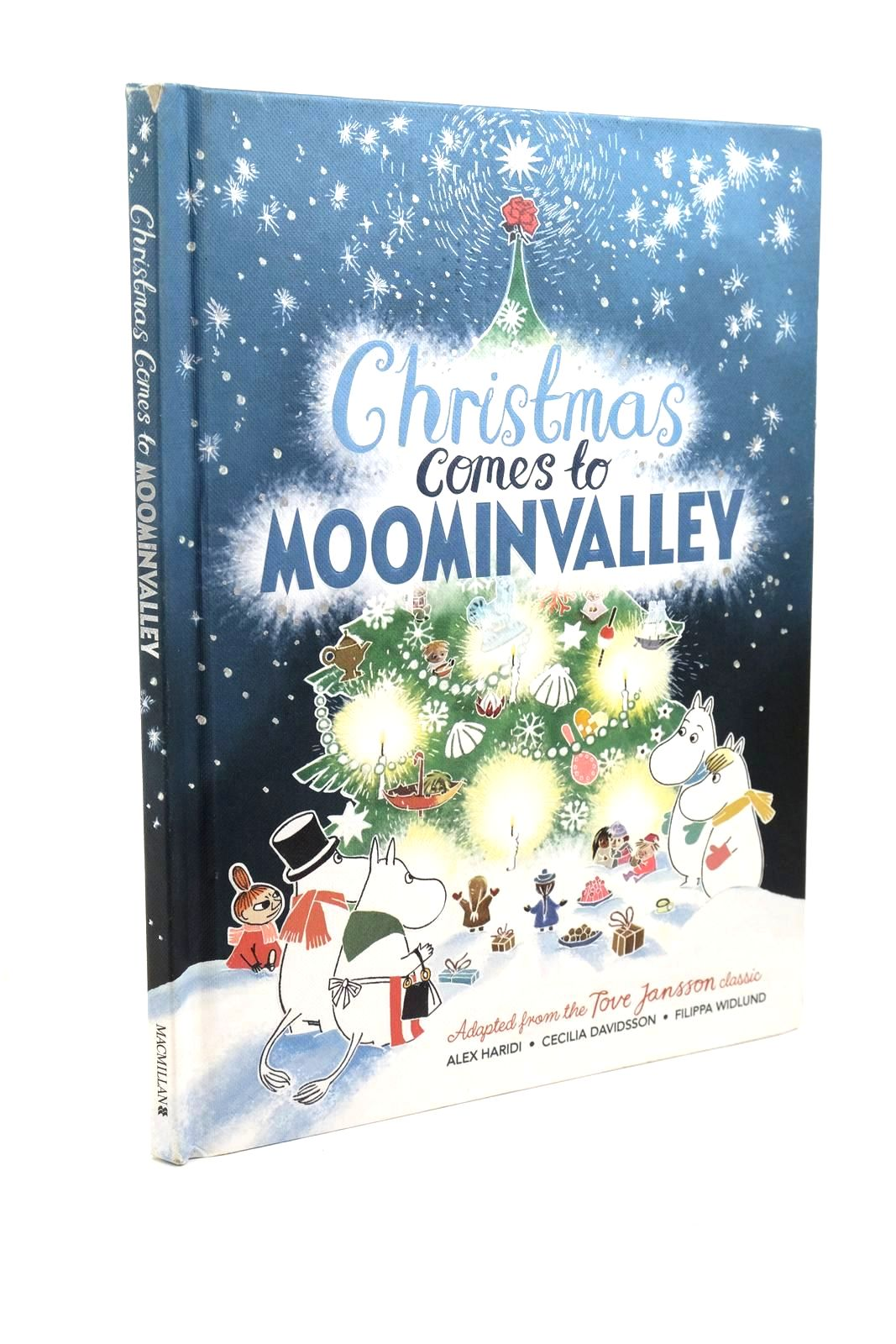 Photo of CHRISTMAS COMES TO MOOMINVALLEY written by Haridi, Alex Davidsson, Cecilia illustrated by Widlund, Filippa published by Macmillan Children's Books (STOCK CODE: 1321440)  for sale by Stella & Rose's Books